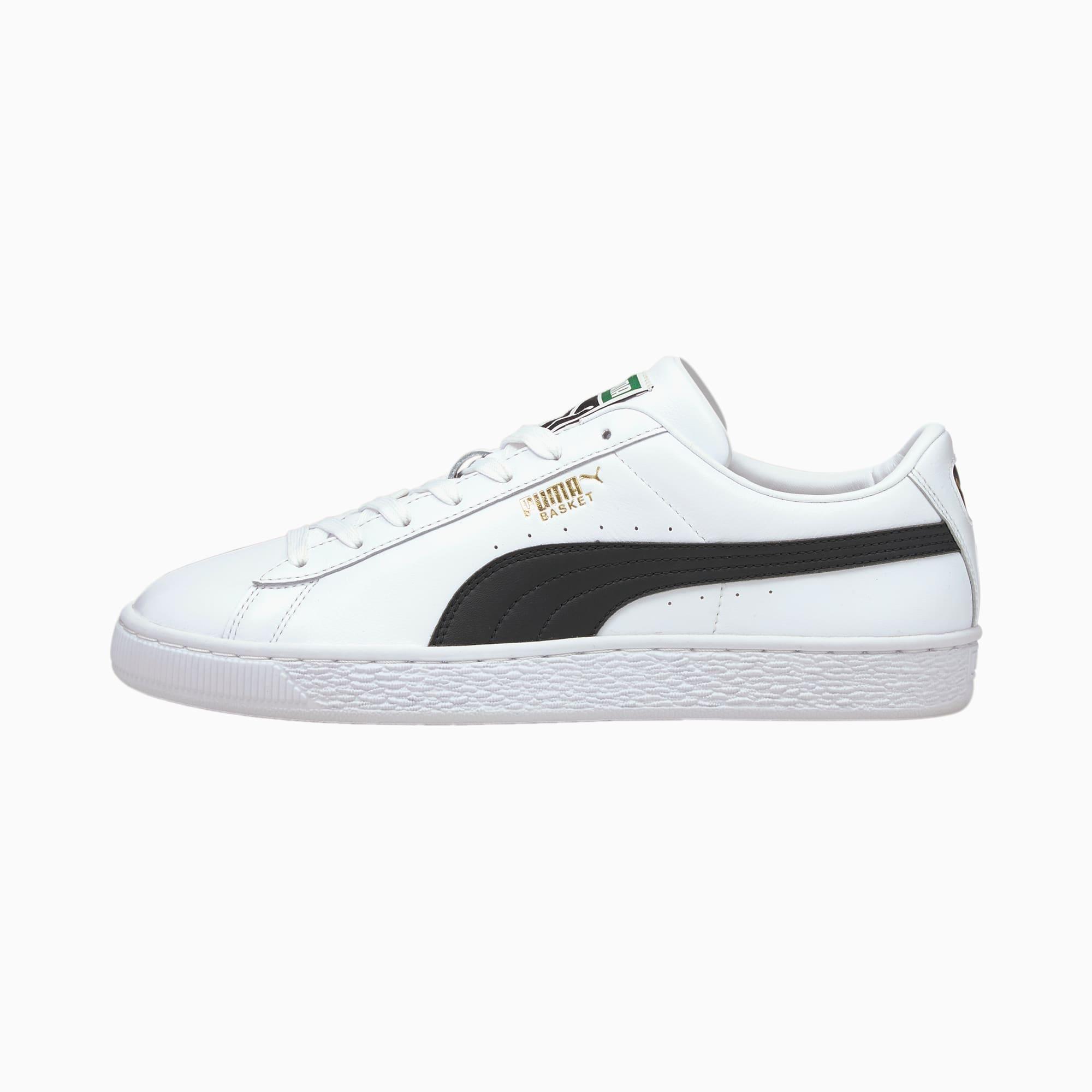 PUMA Basket Classic XXI Sneakers , Wit/Zwart/Aucun, Maat 40,5