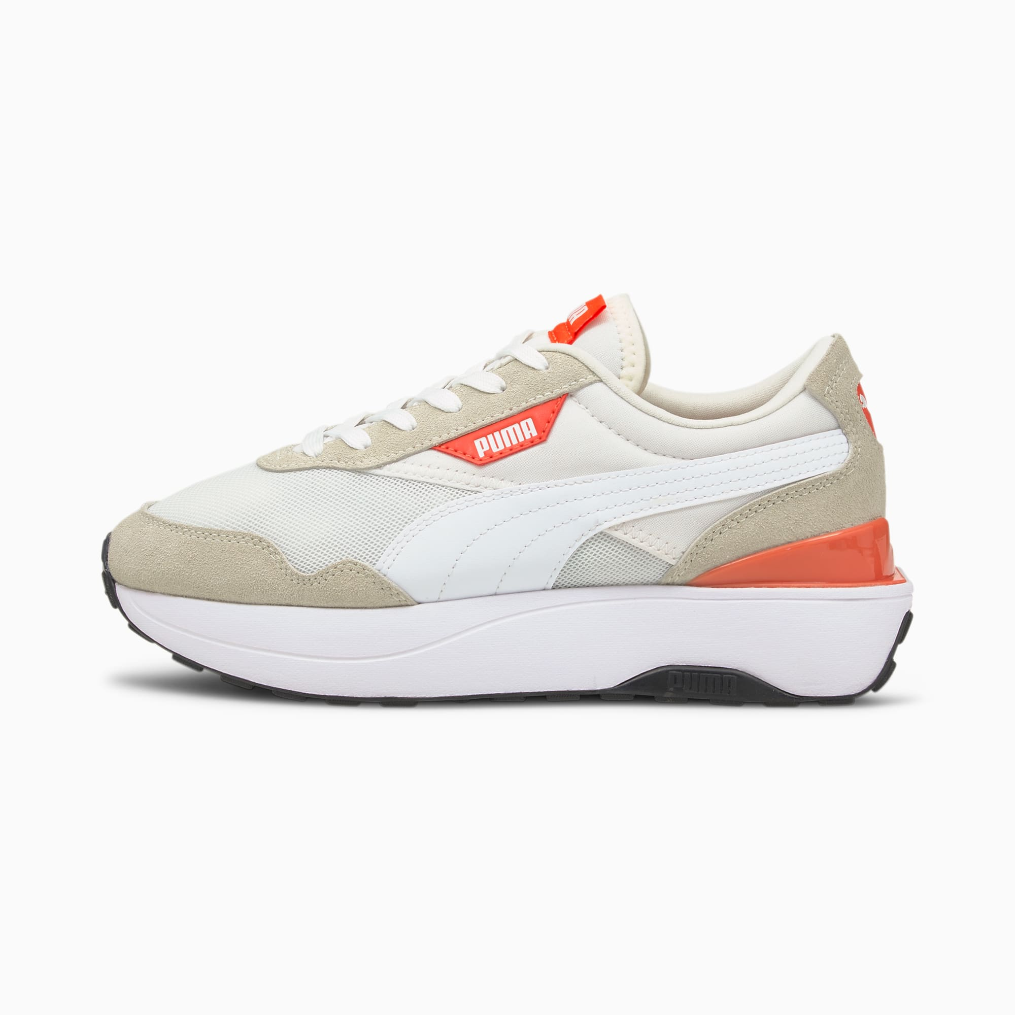 Cruise Rider Classic sneakers dames, Wit, Maat 40,5 | PUMA
