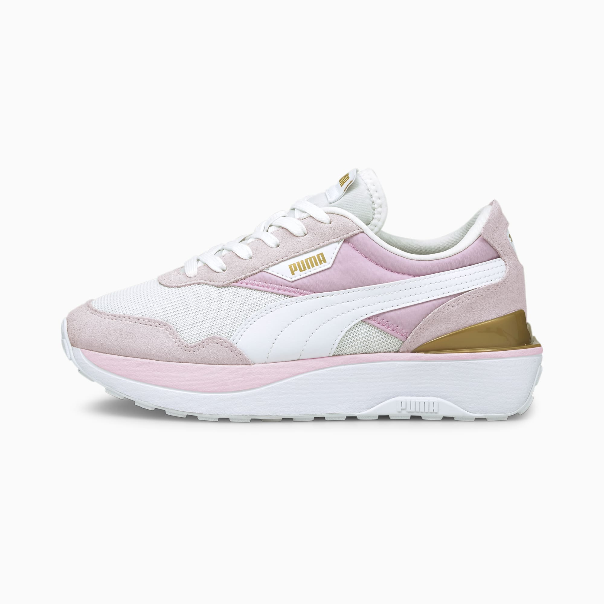 PUMA Cruise Rider Sneakers , Roze/Wit/Aucun, Maat 41
