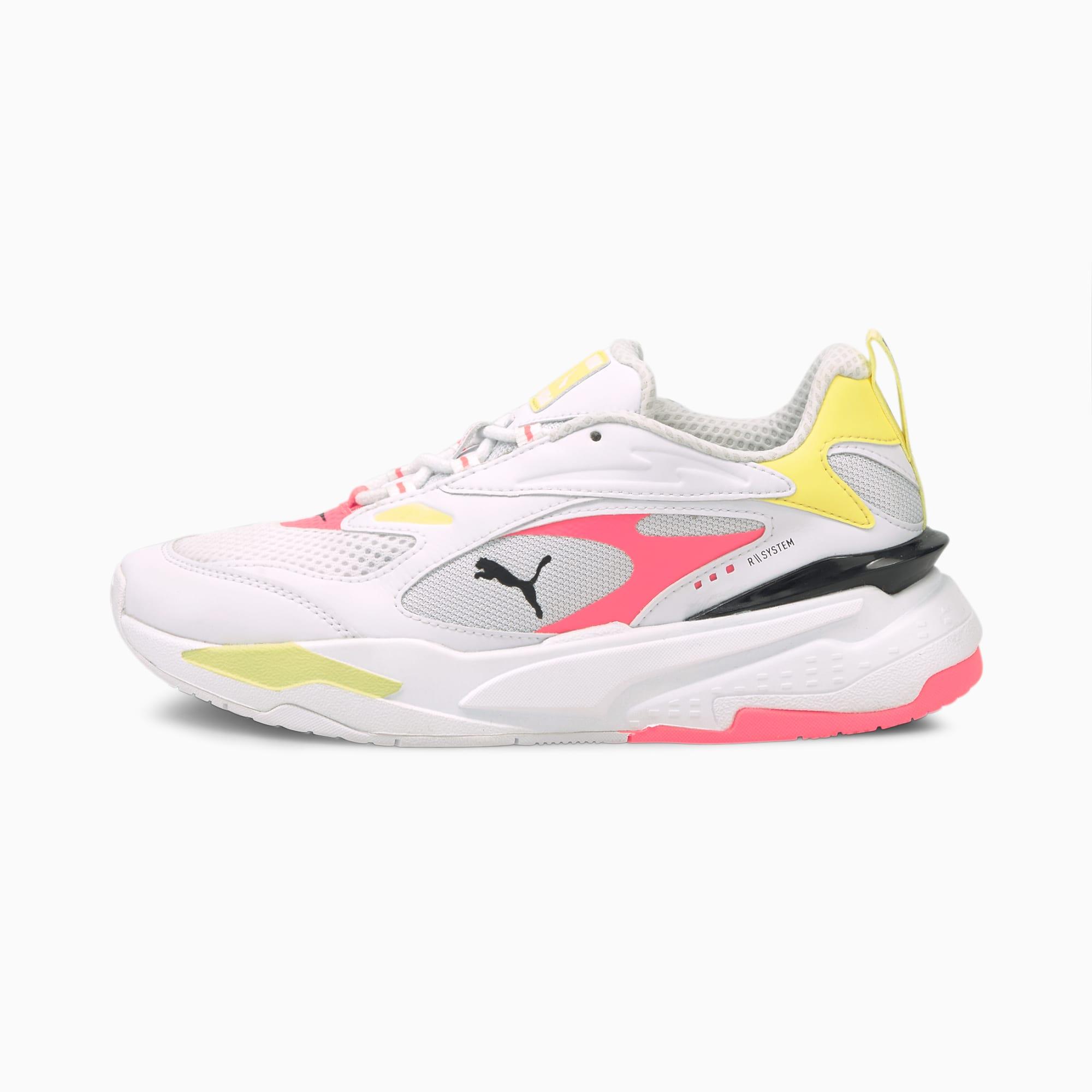 PUMA RS-Fast Pop Damen Sneaker Schuhe   Mit Aucun   Weiß/Rosa   Größe: 38.5