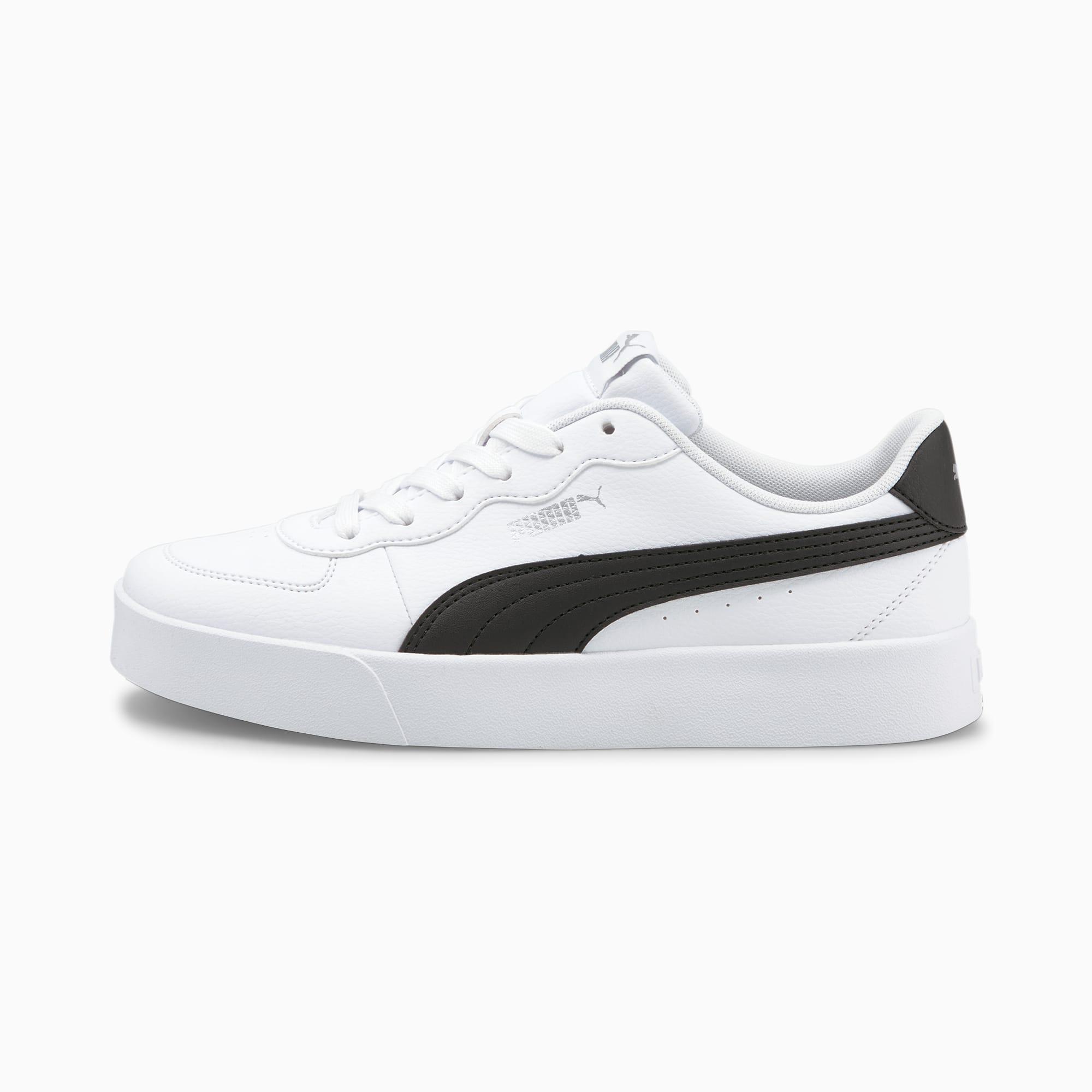 Skye Clean sneakers dames, Wit/Zwart, Maat 40 | PUMA
