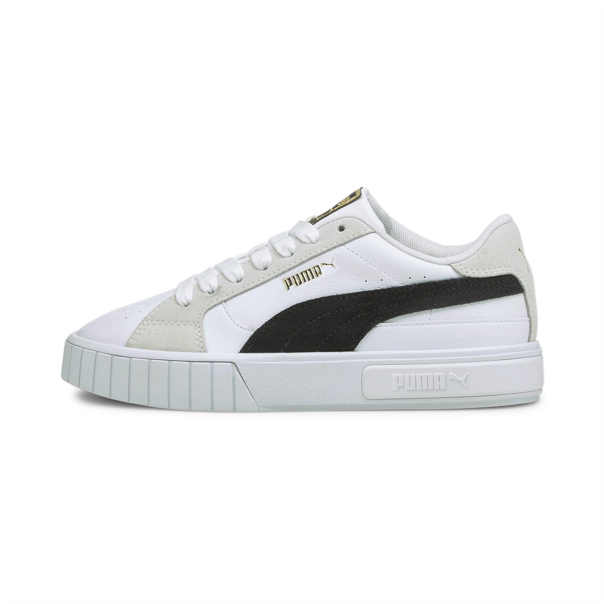PUMA Damskie Buty Sportowe Cali Star Mix, Biały Czarny, rozmiar 35,5, Obuwie