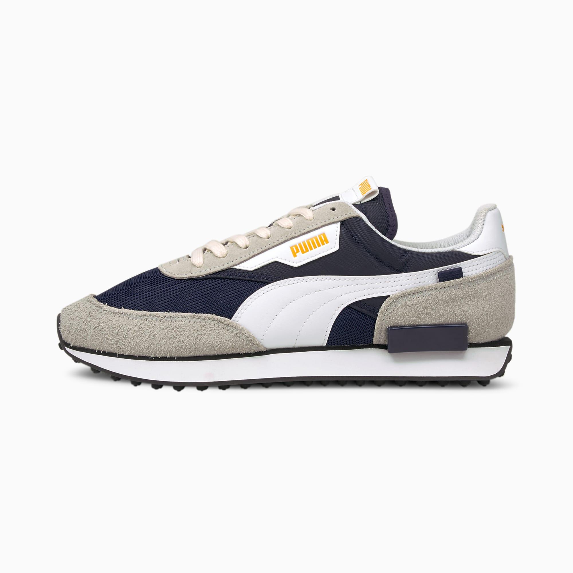 PUMA Future Rider Vintage Sneaker Schuhe | Mit Aucun | Schwarz/Grau | Größe: 48.5