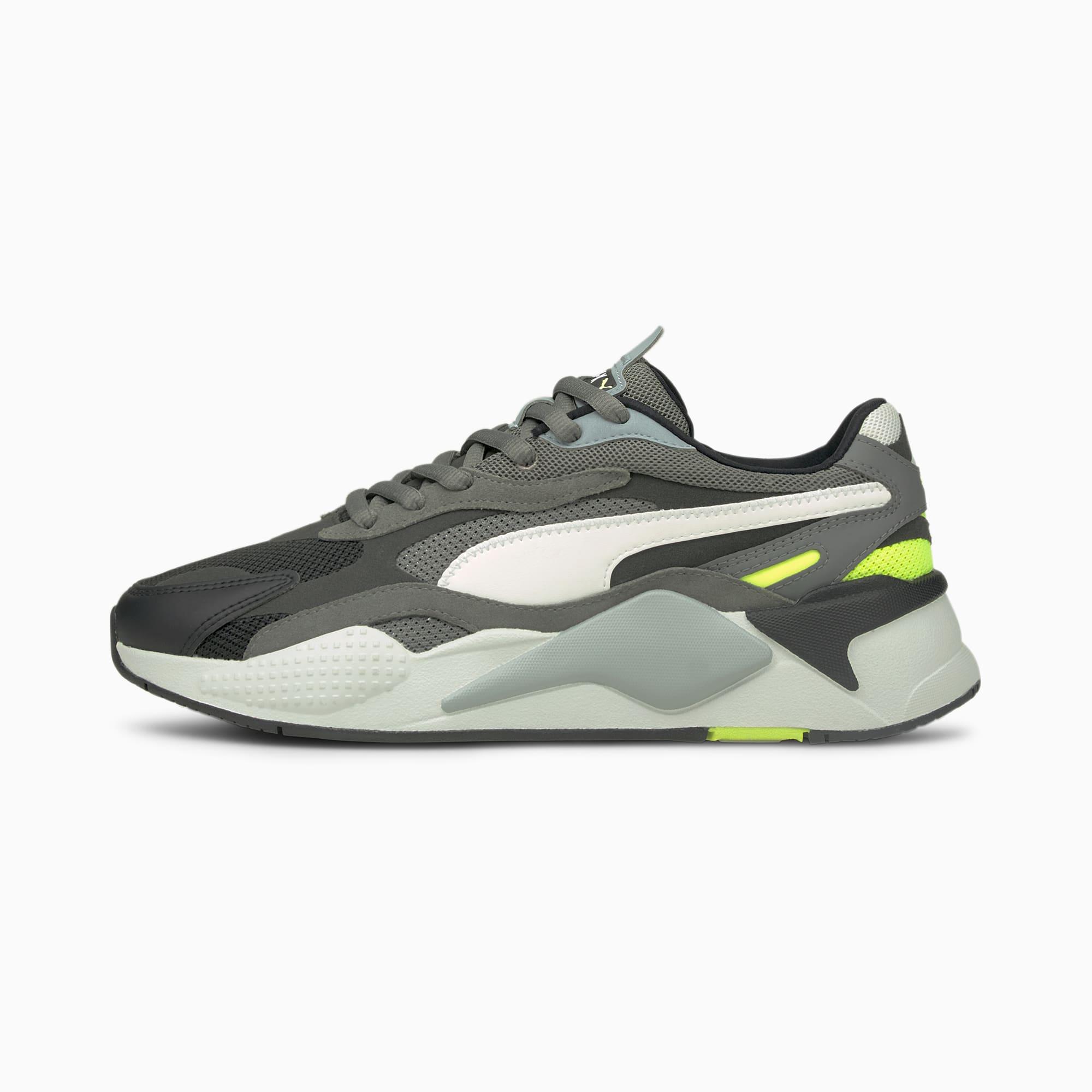 PUMA RS-X³ Puzzle V2 Sneaker Schuhe | Mit Aucun | Schwarz/Gelb | Größe: 40