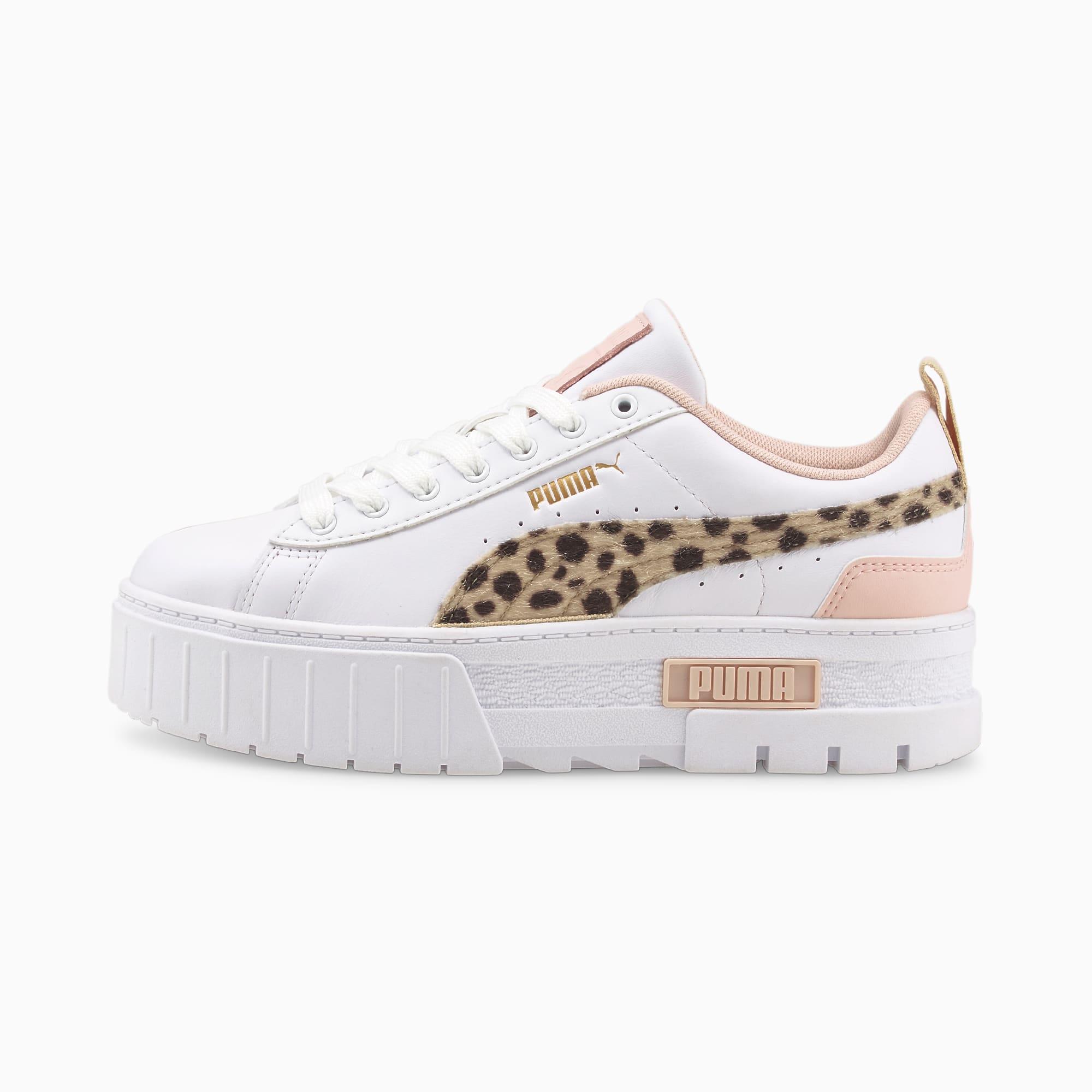 PUMA Mayze Feline Damen Sneakers Schuhe   Weiß   Größe: 37.5