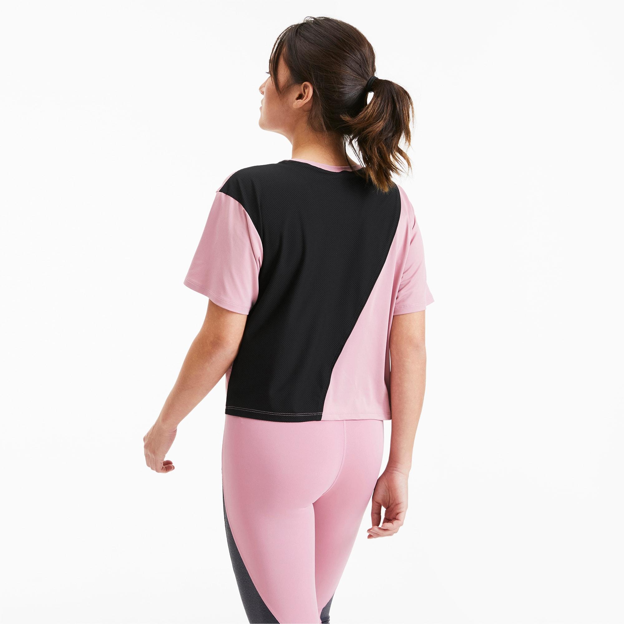 puma -  Pearl Damen Trainings-T-Shirt   Mit Aucun   Schwarz   Größe: XL