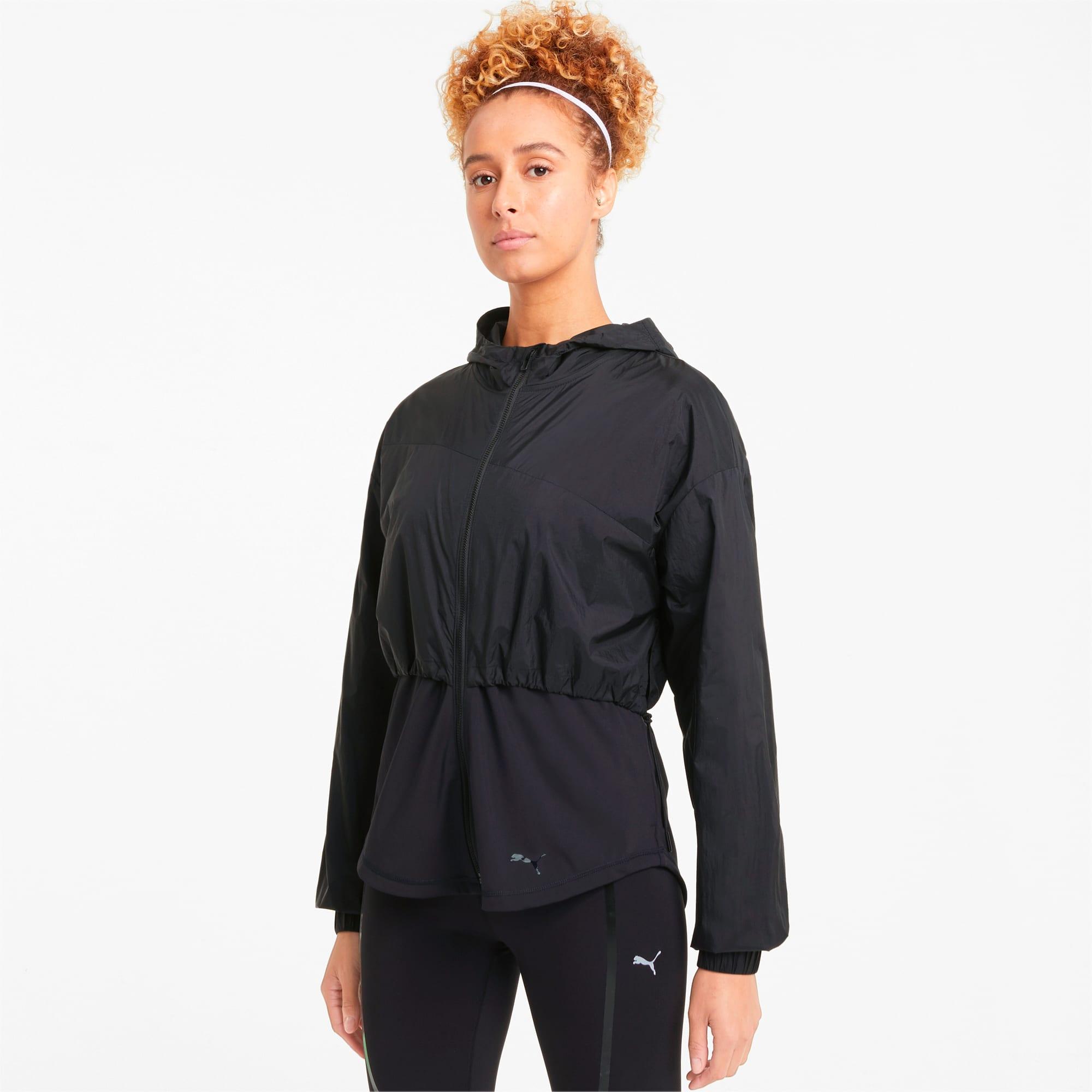 puma -  Ultra Damen Trainingsjacke mit Kapuze | Mit Aucun | Schwarz | Größe: XL
