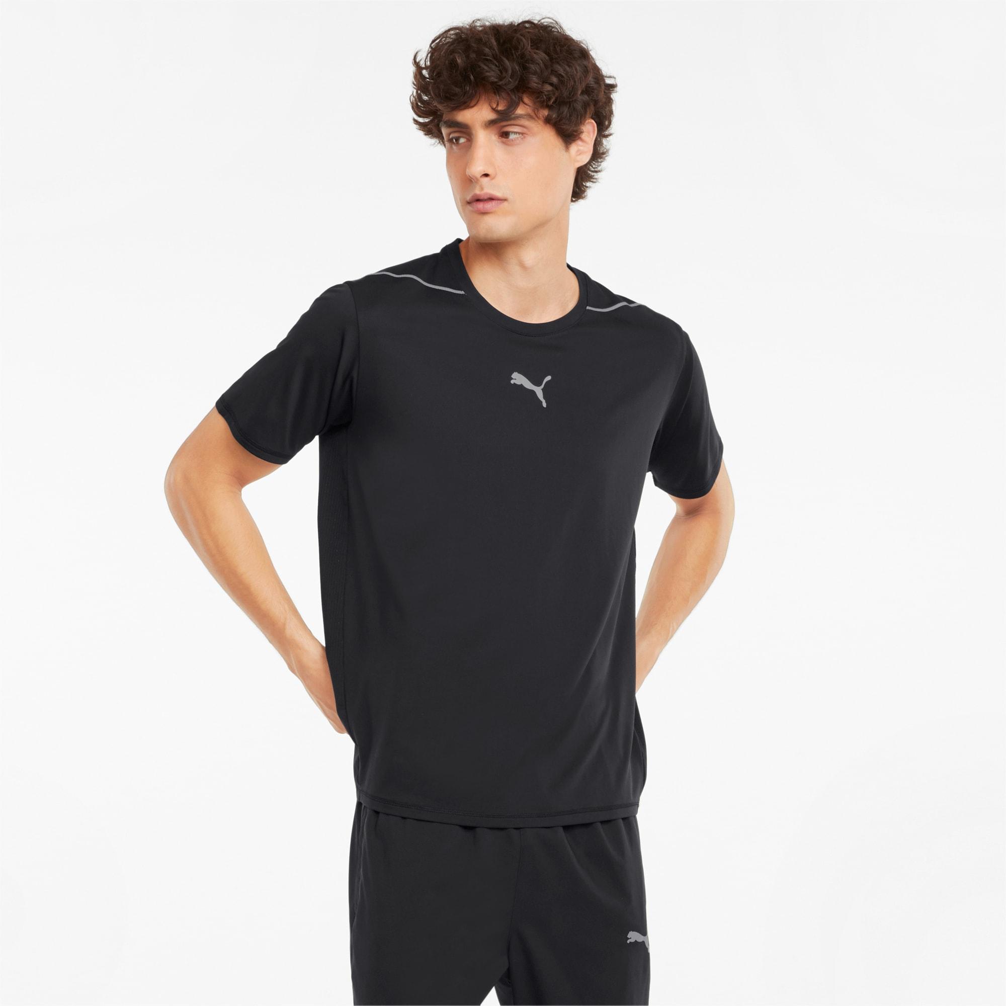 PUMA COOLADAPT Herren Lauf-T-Shirt   Mit Aucun   Schwarz   Größe: XXL