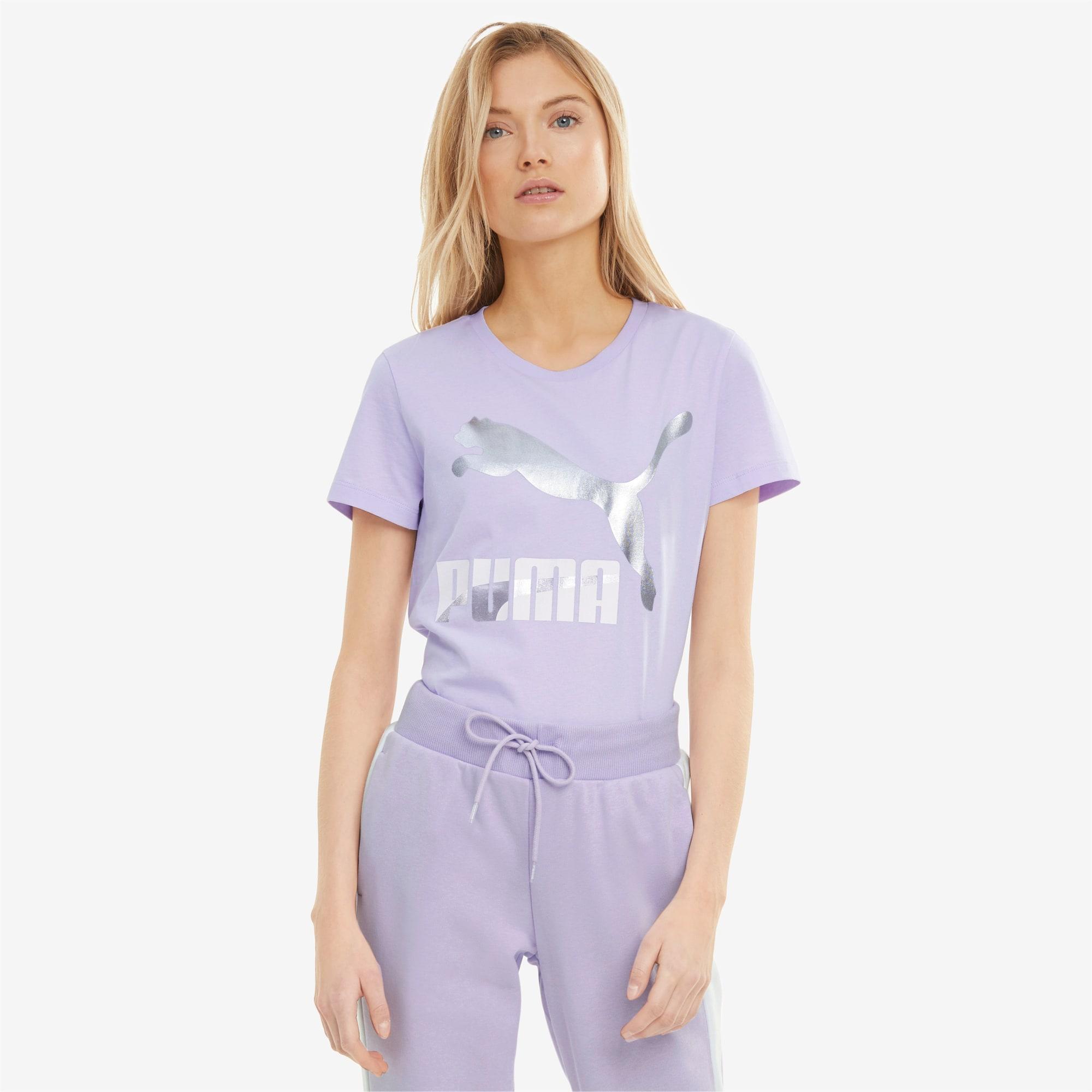 Classics T-shirt met logo dames, Maat XS | PUMA