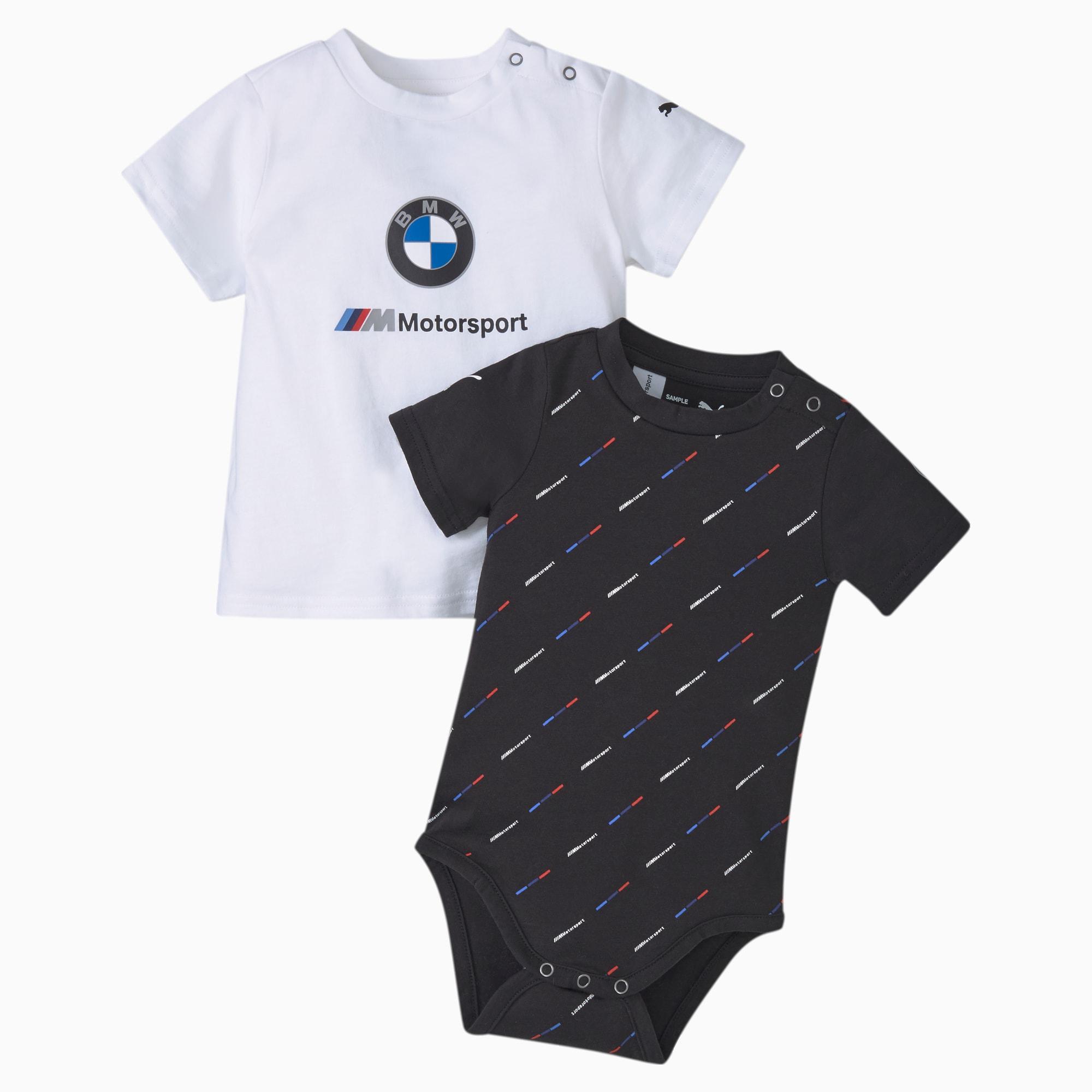 PUMA BMW M Motorsport Baby Set Für Kinder | Mit Aucun | Schwarz | Größe: 62