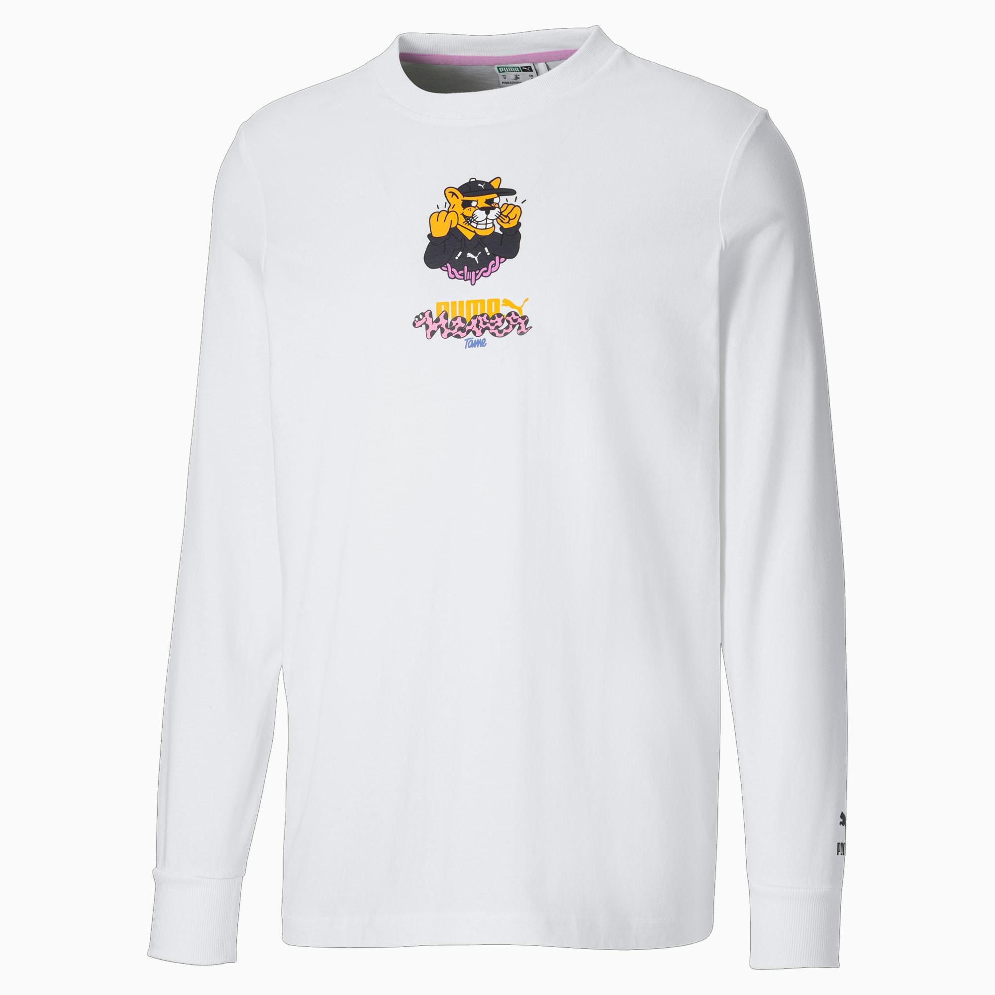 PUMA x BOKU Herren Langarm-Shirt   Weiß   Größe: XS