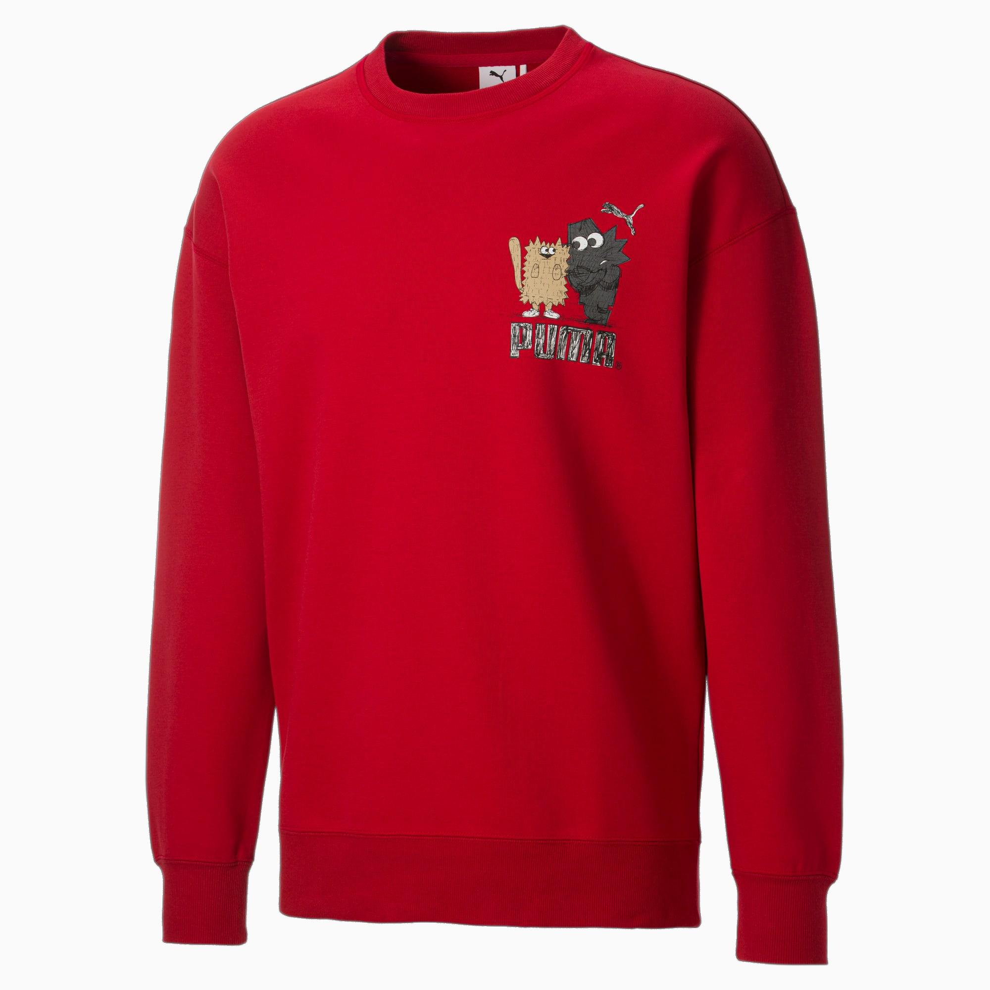 PUMA x MICHAEL LAU G herensweater met ronde hals, Maat XS