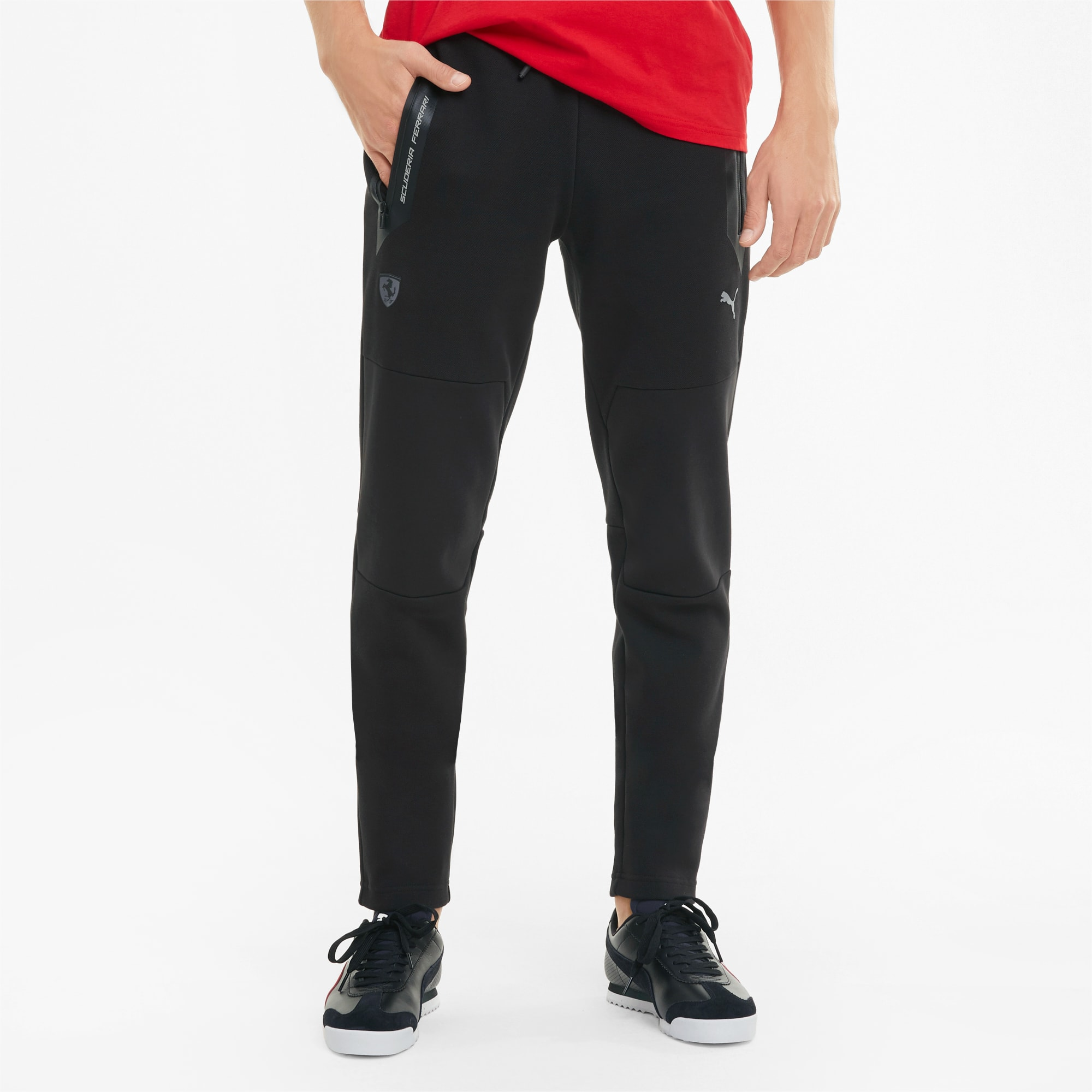 PUMA Scuderia Ferrari Style Herren Sweatpants | Mit Aucun | Schwarz | Größe: XXL