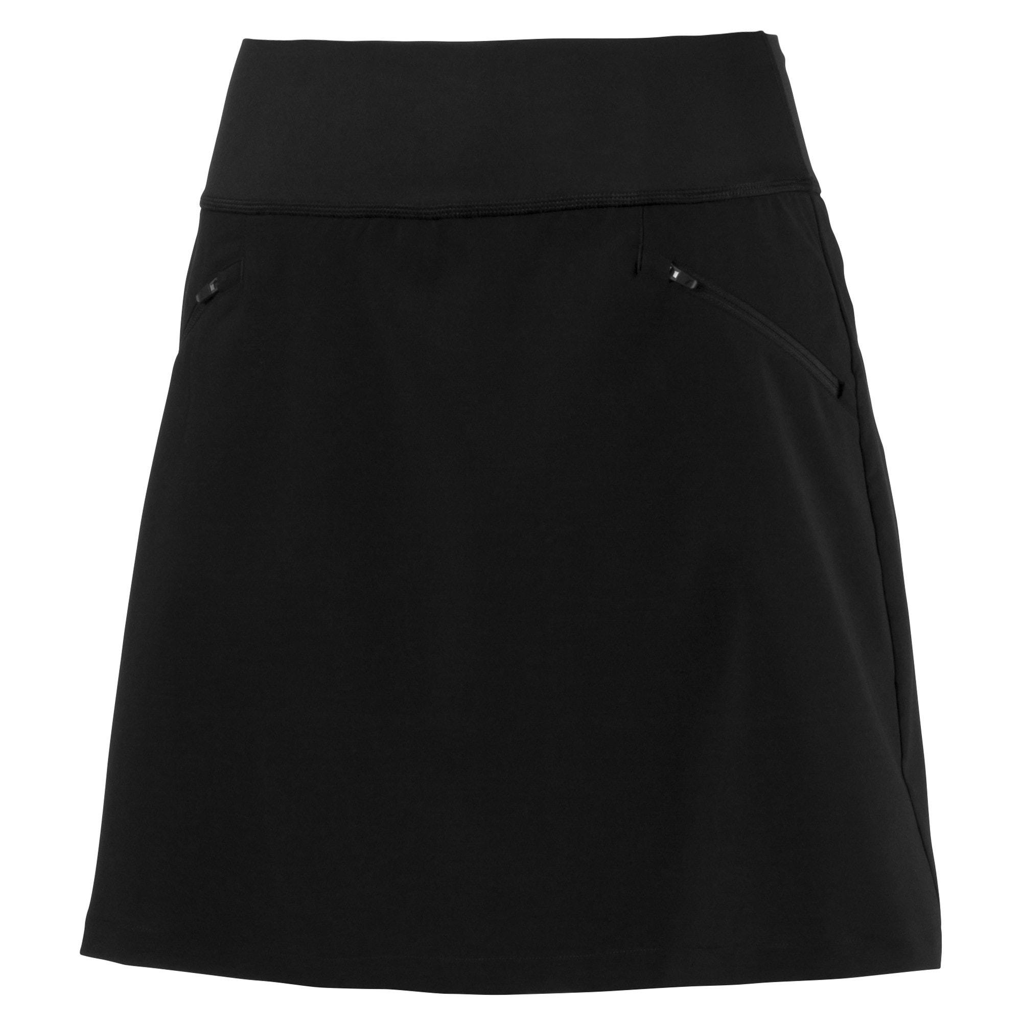 PWRSHAPE 18 inch golfrokje voor Dames, Zwart, Maat XL | PUMA