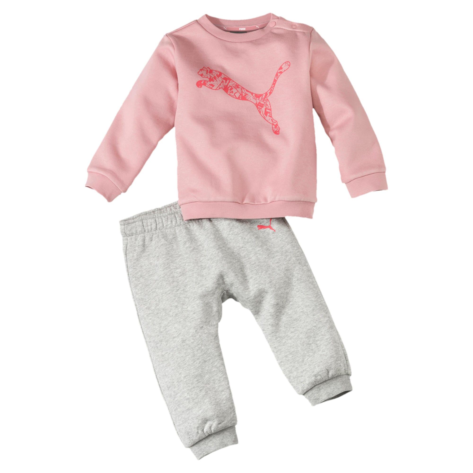 Minicats Babies' Jogger Set, Roze, Maat 86 | PUMA