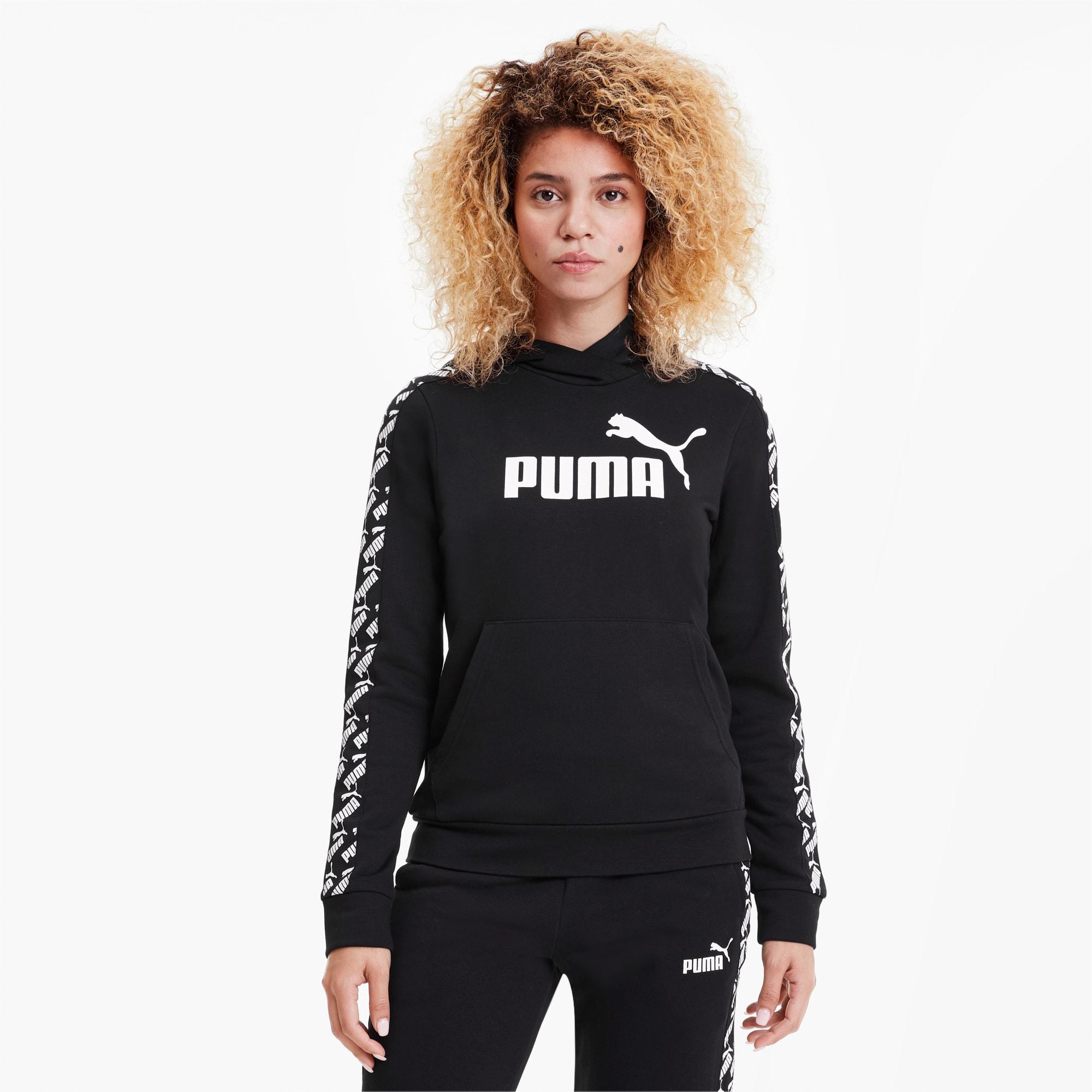 Image of PUMA Amplified Damen Hoodie | Mit Aucun | Schwarz | Größe: L