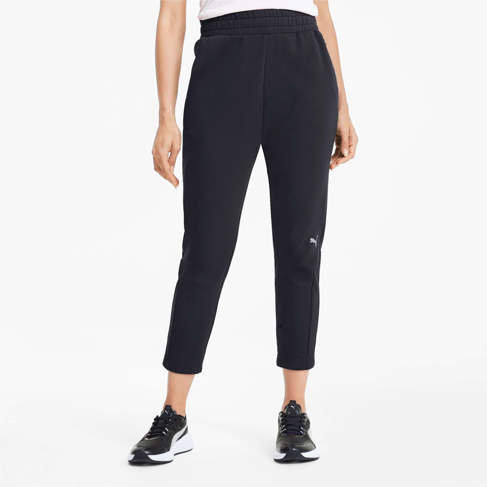 PUMA Evostripe Damen Sweatpants | Mit Aucun | Schwarz | Größe: S