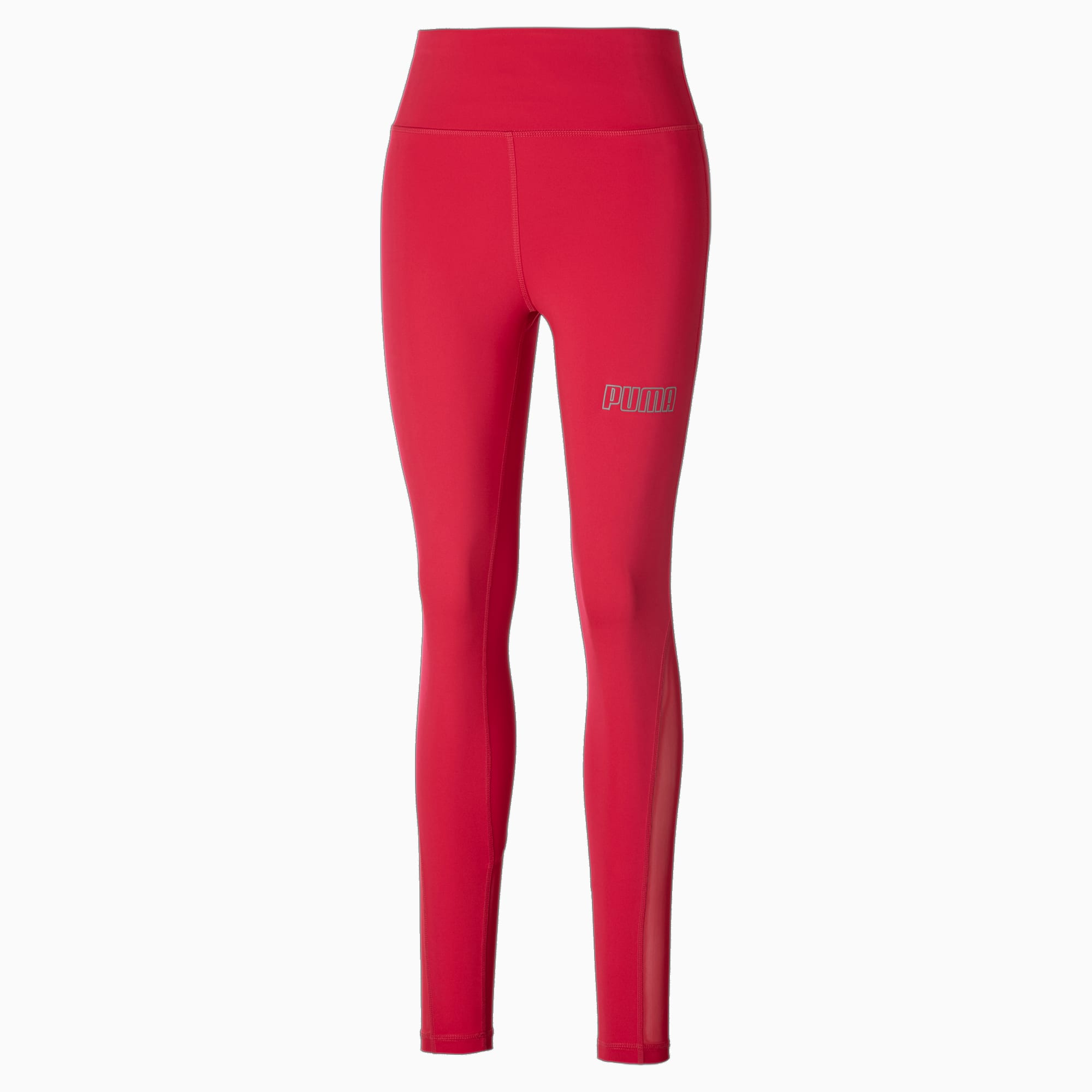 puma -  Active Damen High Waist Poly Leggings | Mit Aucun | Rosa | Größe: XL