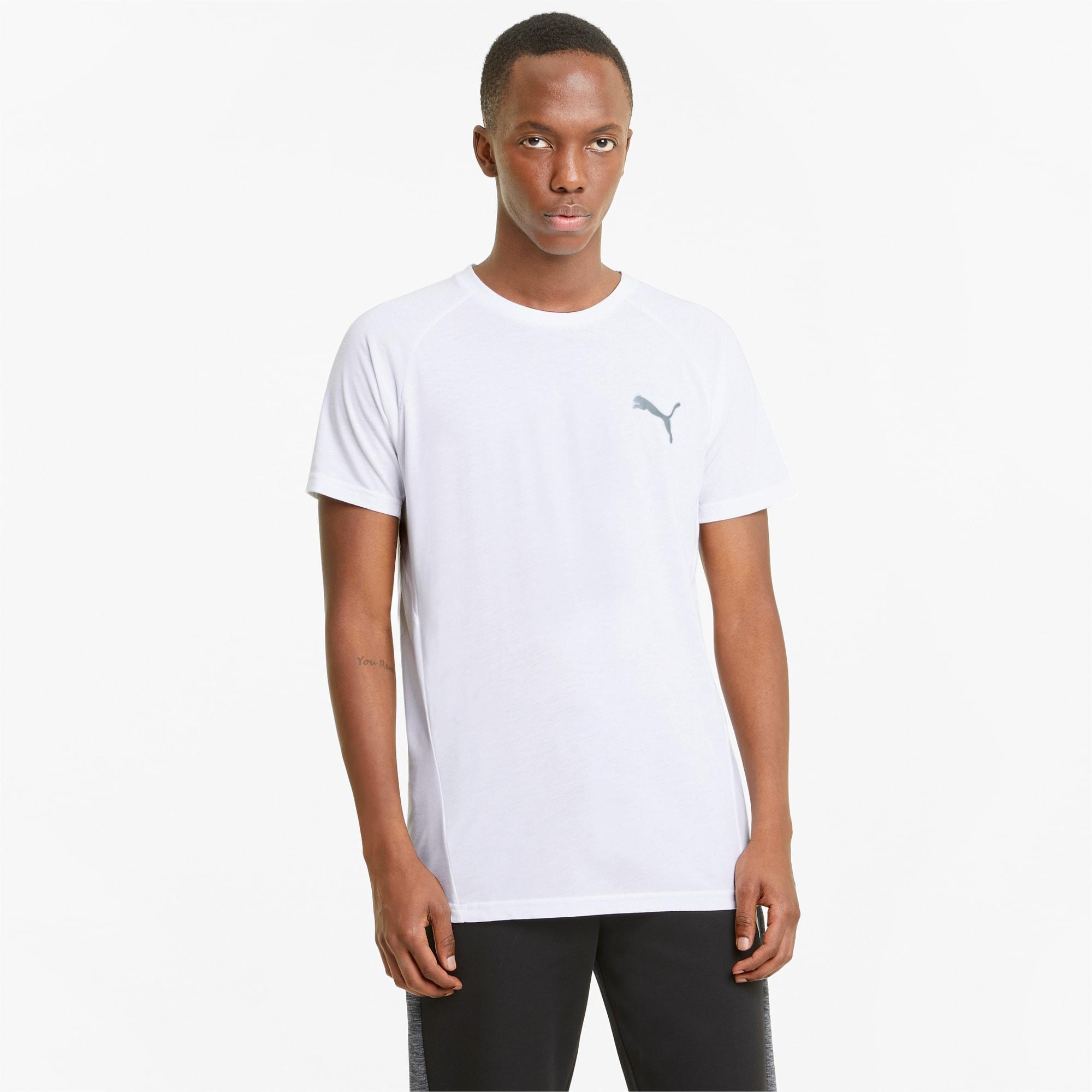 Evostripe T-shirt heren, Wit, Maat 3XL   PUMA