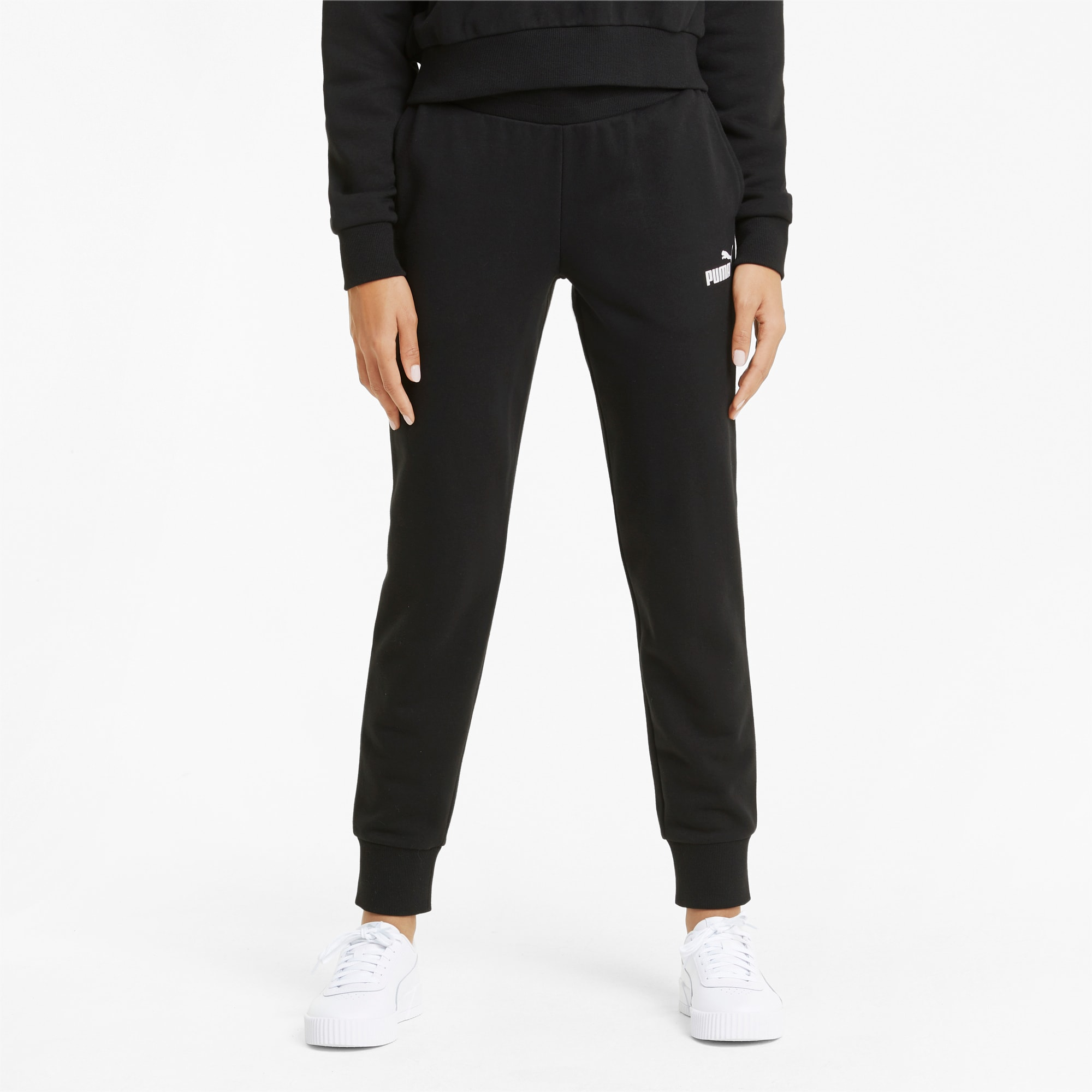 PUMA Essentials Damen Sweatpants | Mit Aucun | Schwarz | Größe: XS