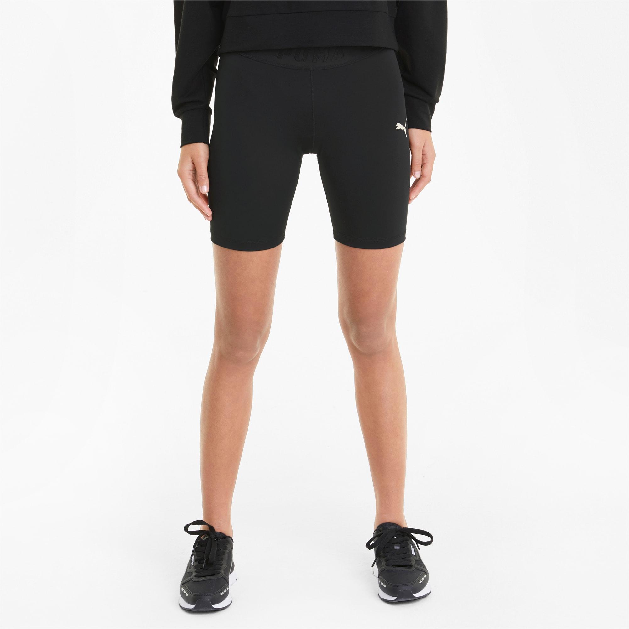 puma -  Modern Sports Damen Radlerhose   Mit Aucun   Schwarz   Größe: L