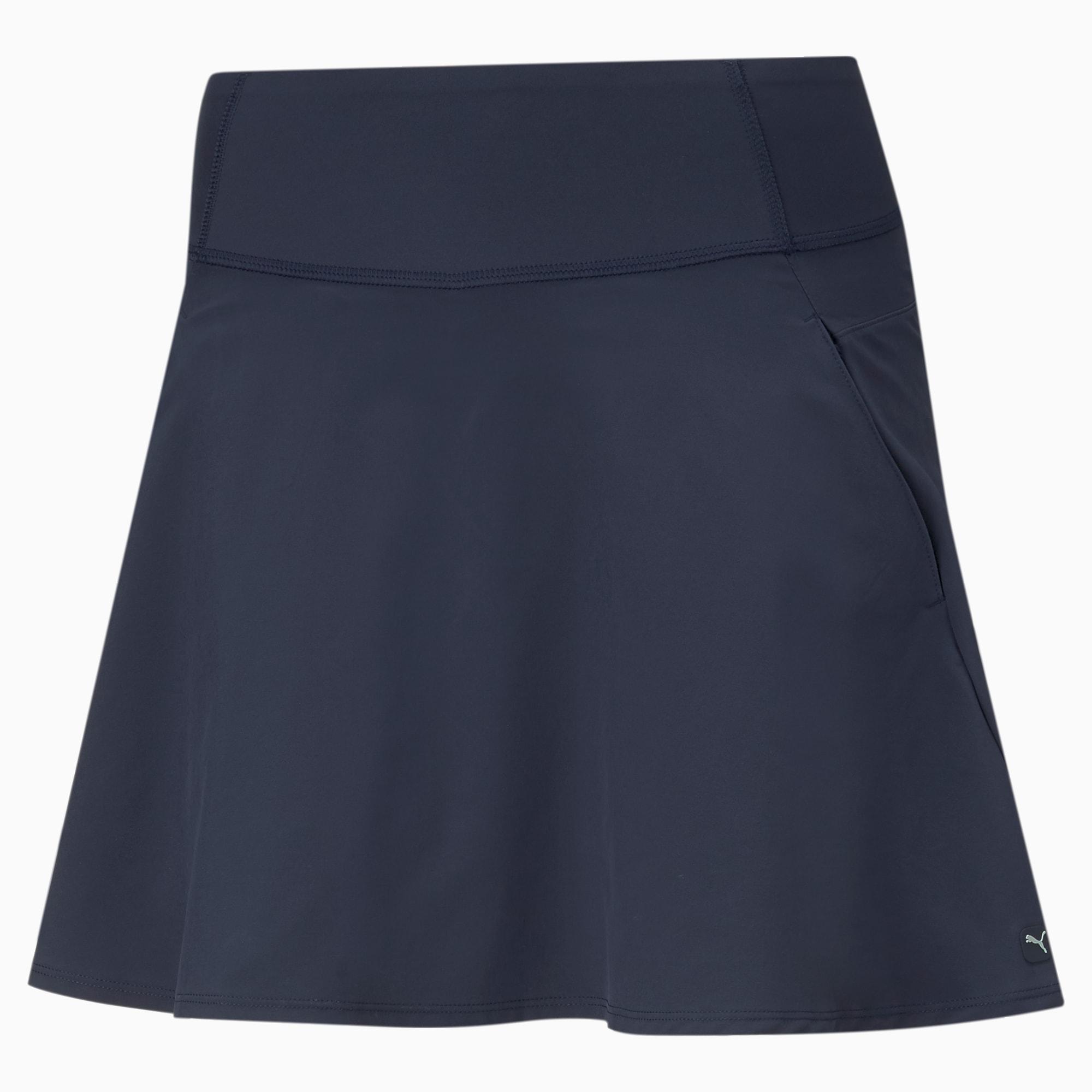 Jupe de golf tissée PWRSHAPE Solid, Bleu, Taille L, Vêtements - PUMA - Modalova