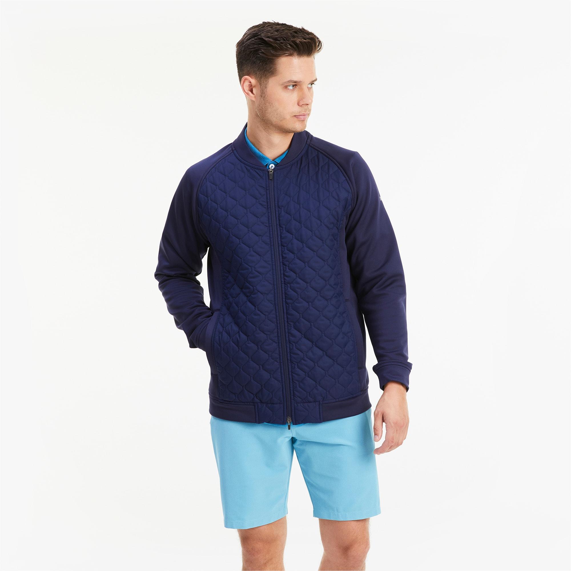 blouson doublé primaloft® stlth golf pour homme, bleu, taille xl, vêtements