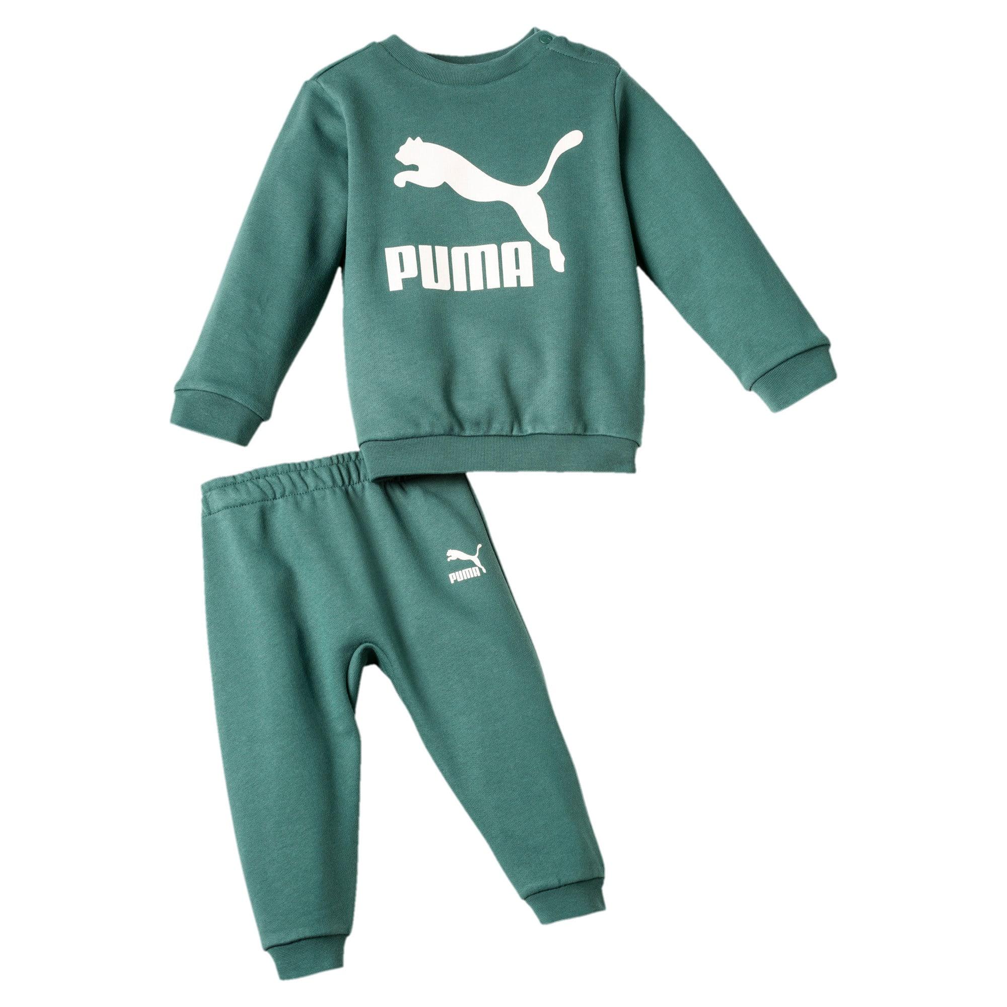 Streetwear joggingpakje, Groen, Maat 98 | PUMA
