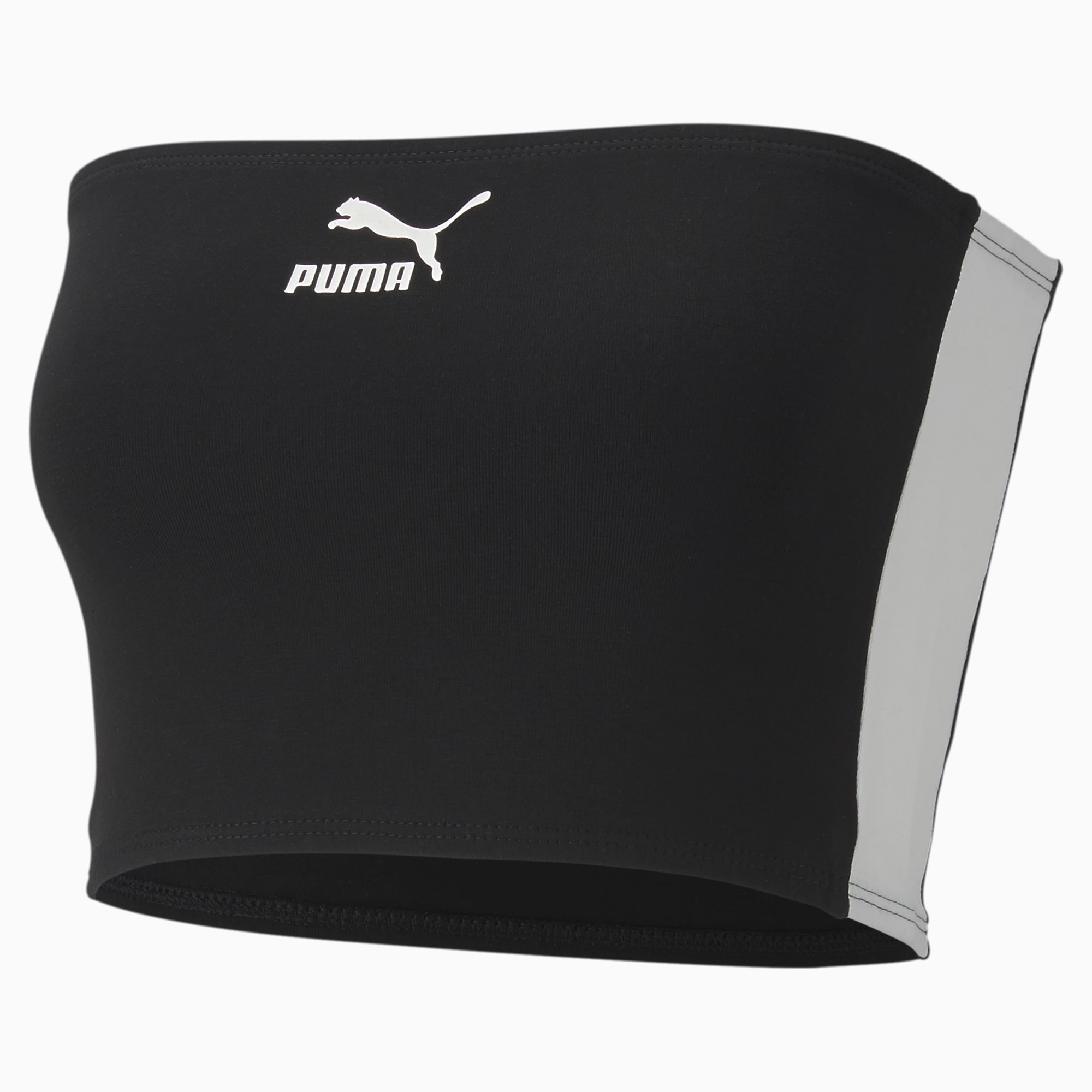 puma -  Damen Bandeau Top | Mit Aucun | Schwarz | Größe: XL