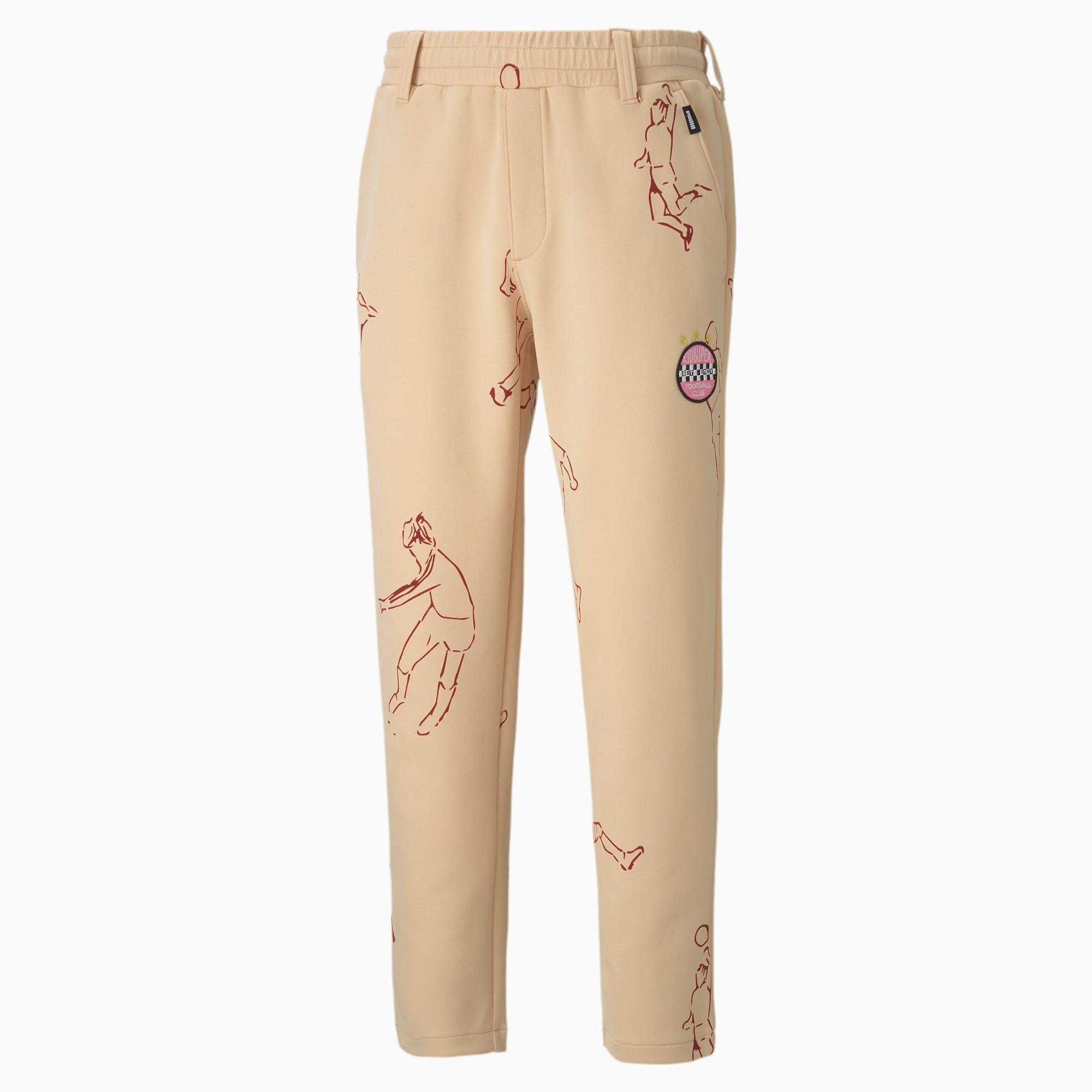 PUMA x KIDSUPER Tailored broek voor Heren, Roze, Maat XXS
