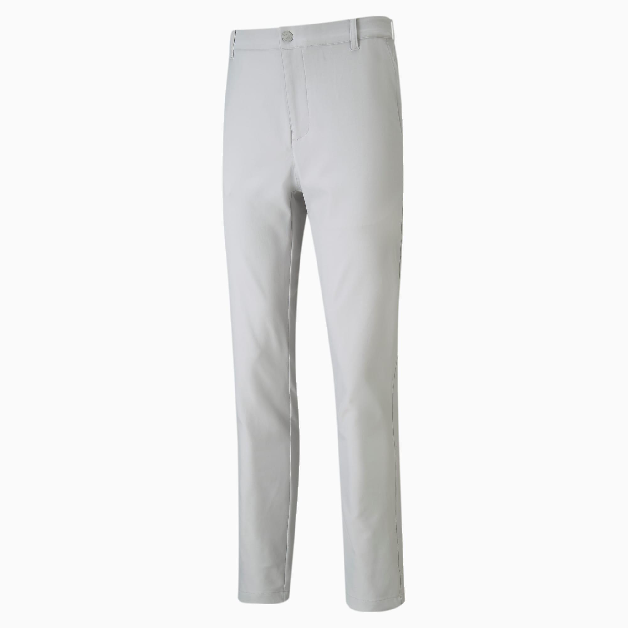 Jackpot Tailored golfbroek heren, Grijs, Maat 36/32 | PUMA