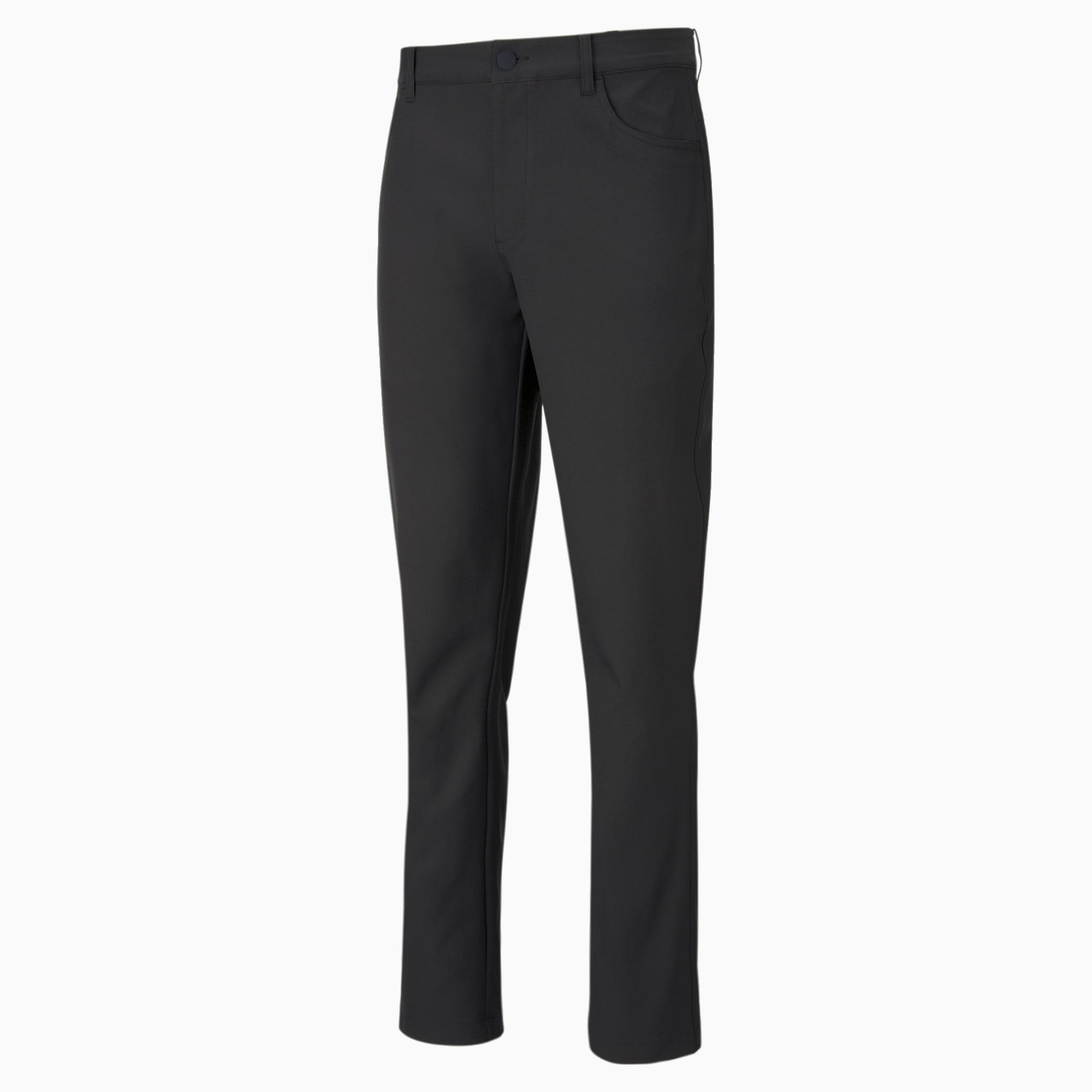 Jackpot 5-pocket golfbroek heren, Zwart, Maat 36/30 | PUMA