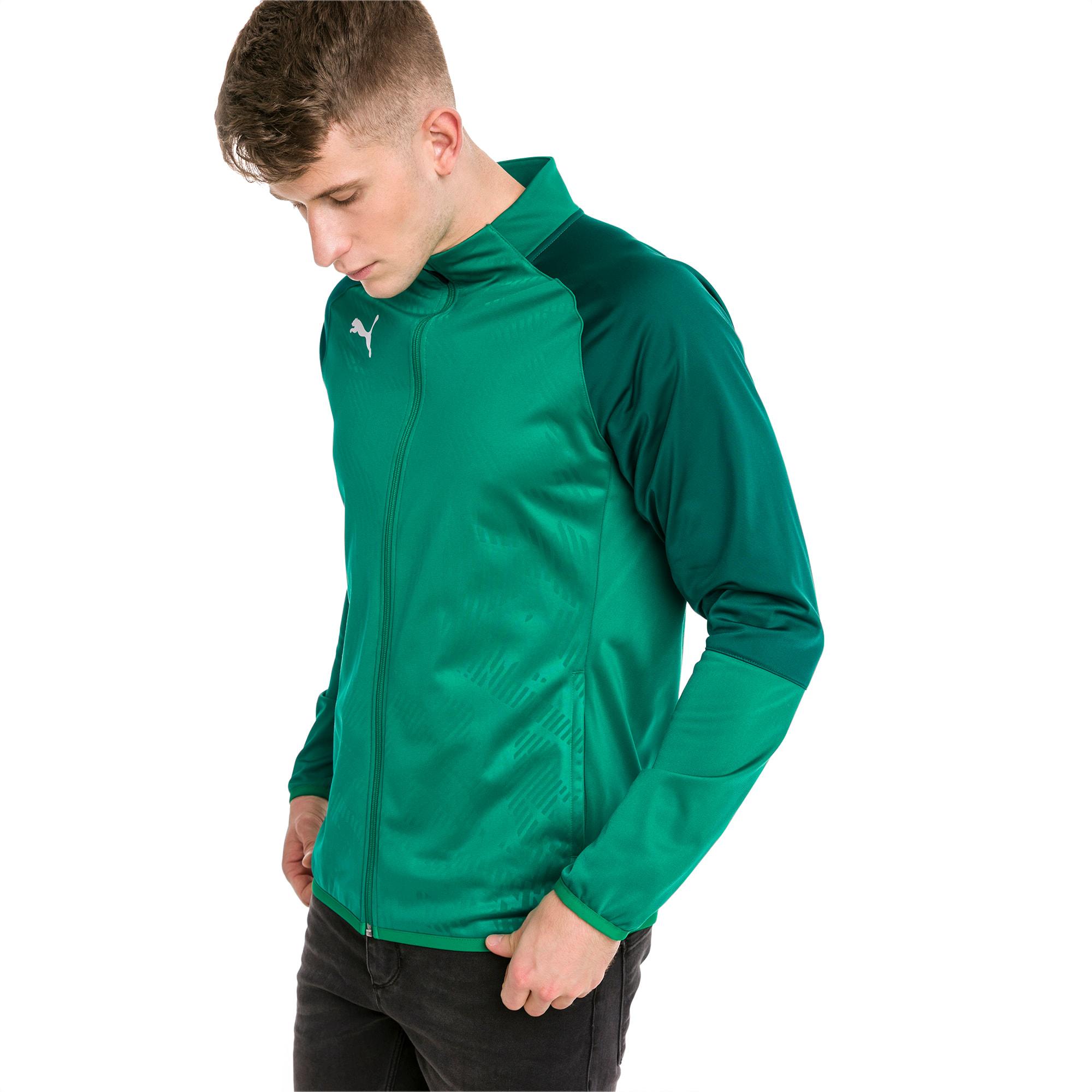 blouson de survêtement pour le foot cup training poly core pour homme, vert, taille xxl, vêtements