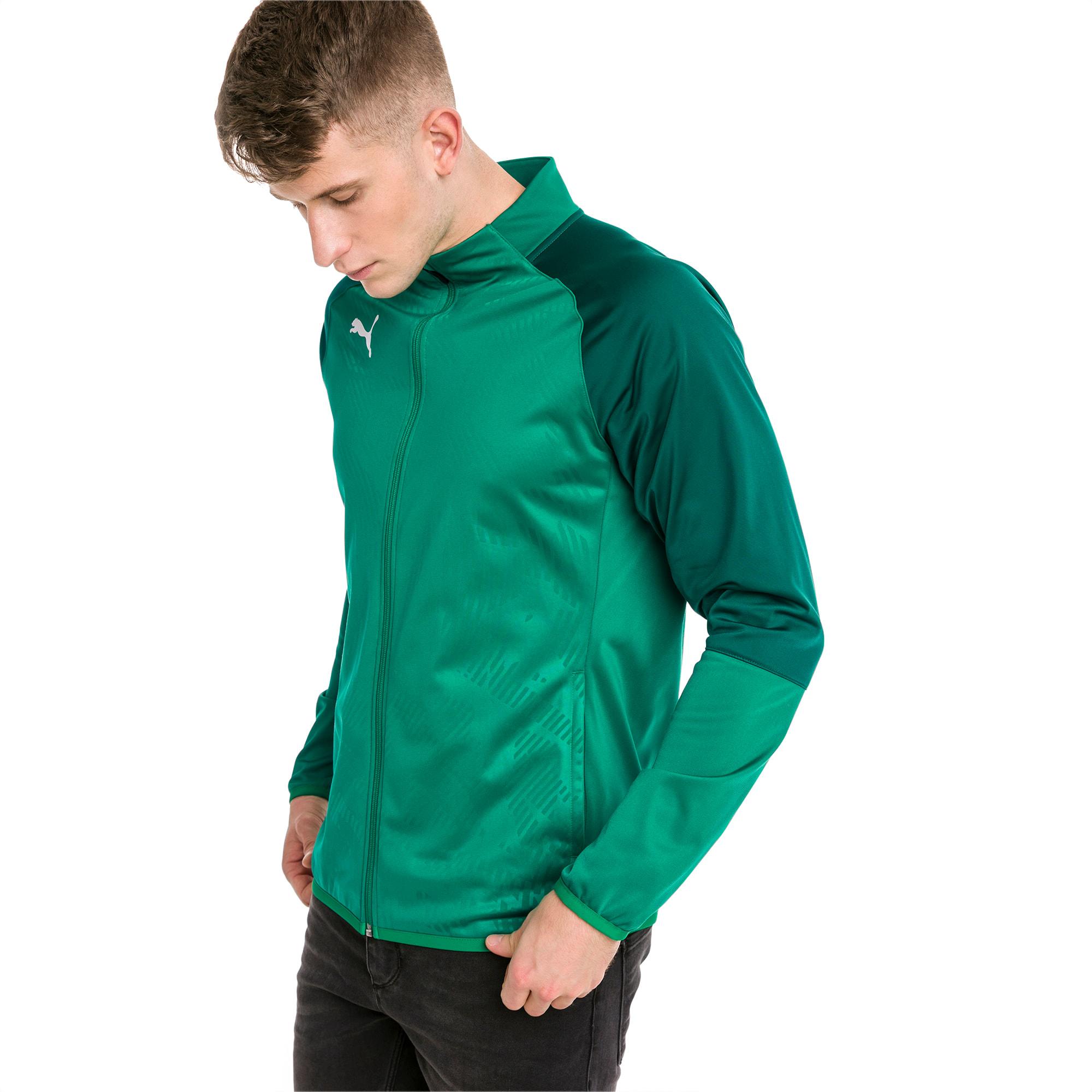 blouson de survêtement pour le foot cup training poly core pour homme, vert, taille l, vêtements