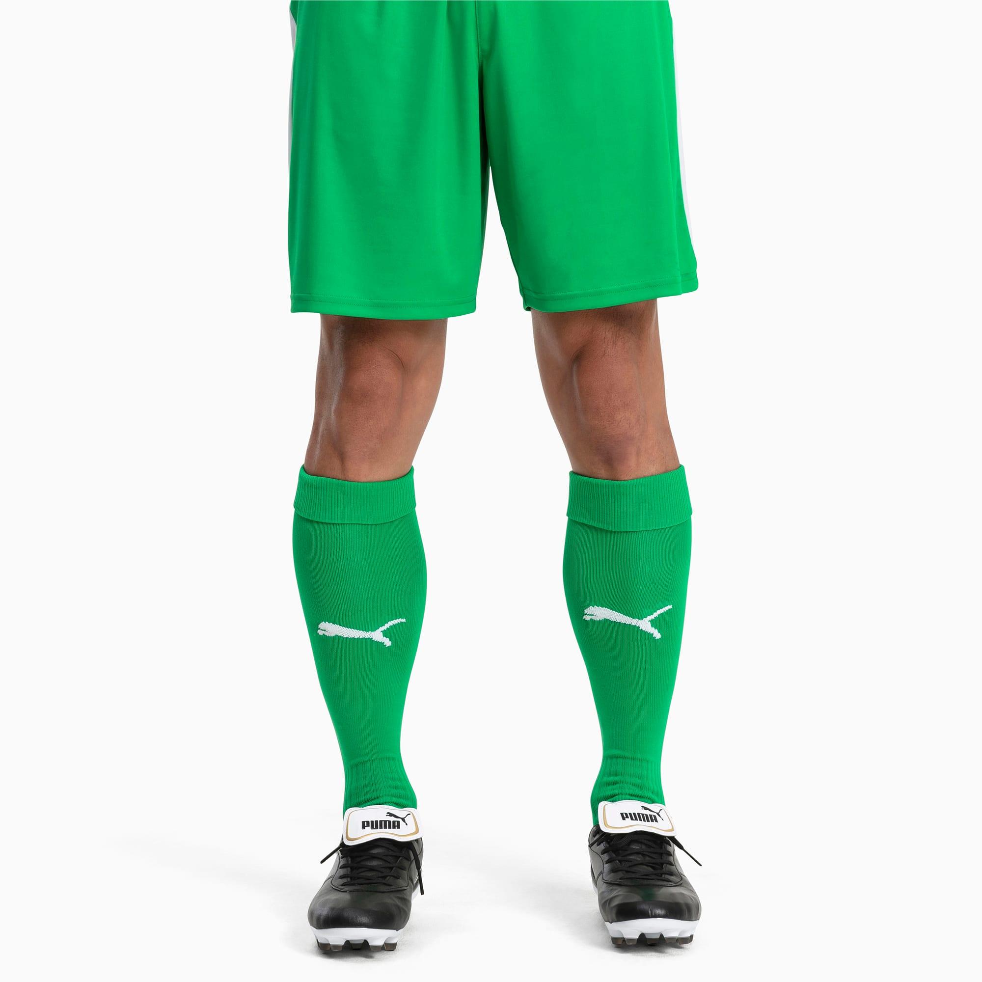 PUMA Męskie Skarpety Piłkarskie LIGA Core Zielony / Biały, rozmiar 31-34, Akcesoria