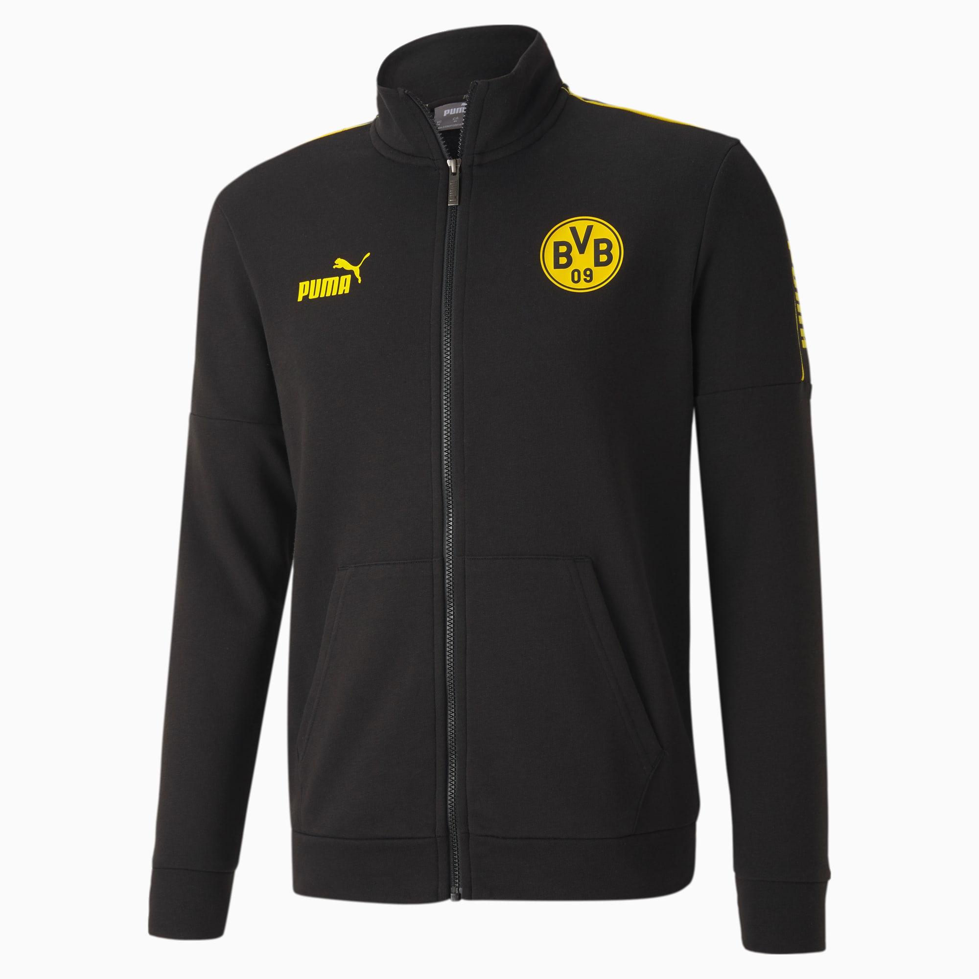 puma -  BVB ftblCULTURE Fußball Trainingsjacke | Mit Aucun | Schwarz/Gelb | Größe: XXL