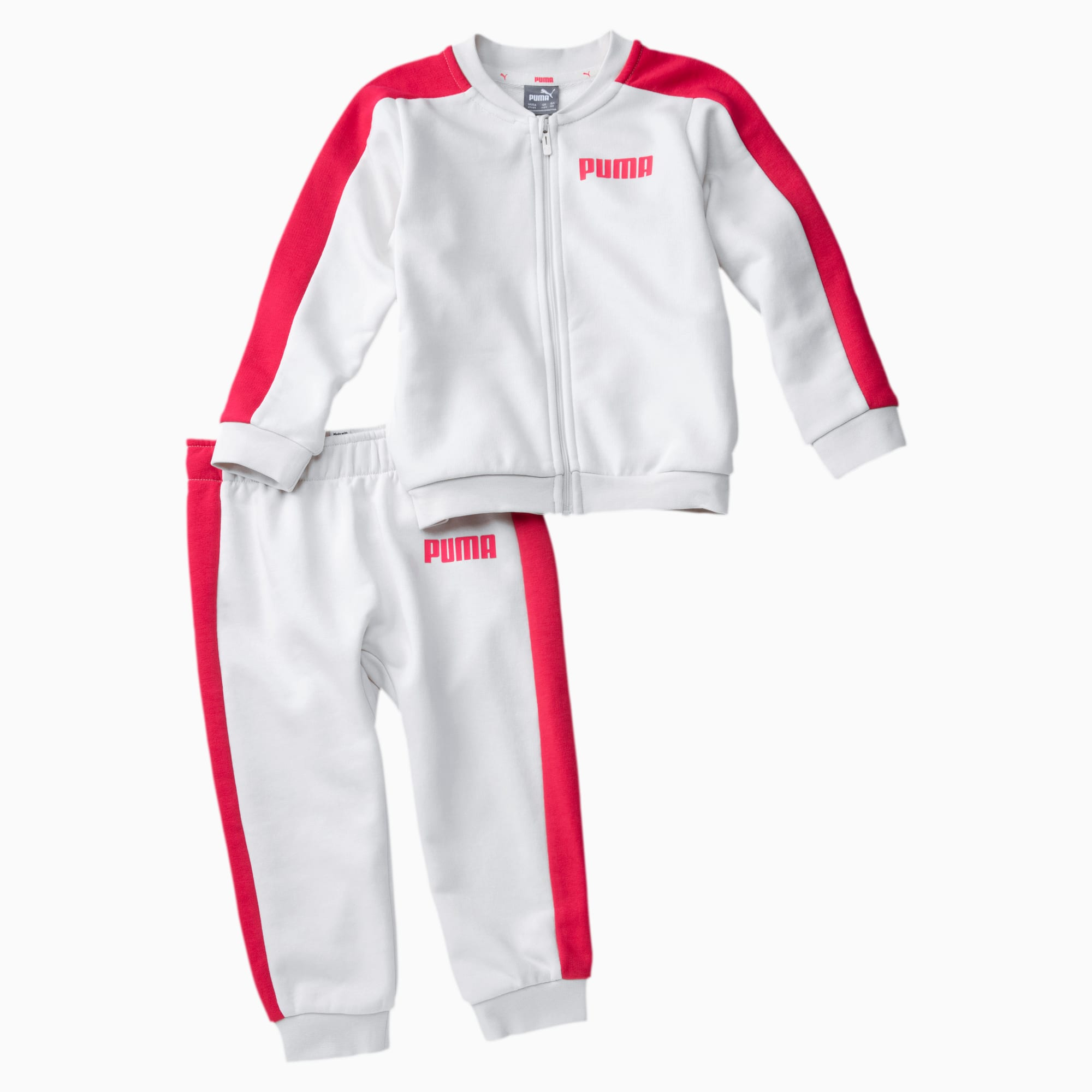 Image of PUMA Contrast Baby Jogginganzug Für Kinder | Mit Aucun | Weiß | Größe: 62