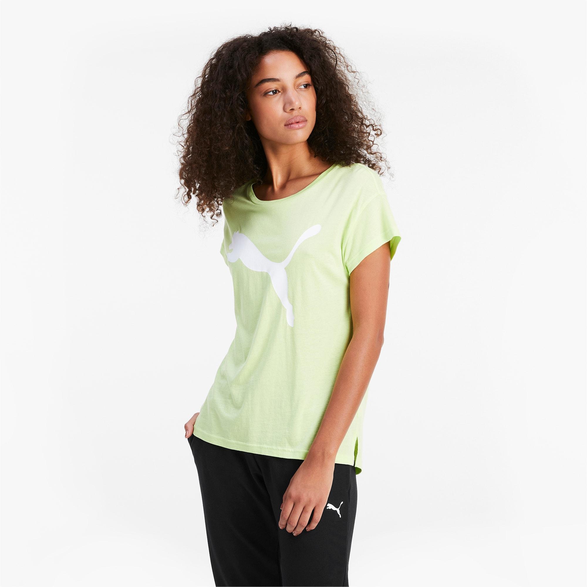 puma -  Active Damen T-Shirt   Grün   Größe: S