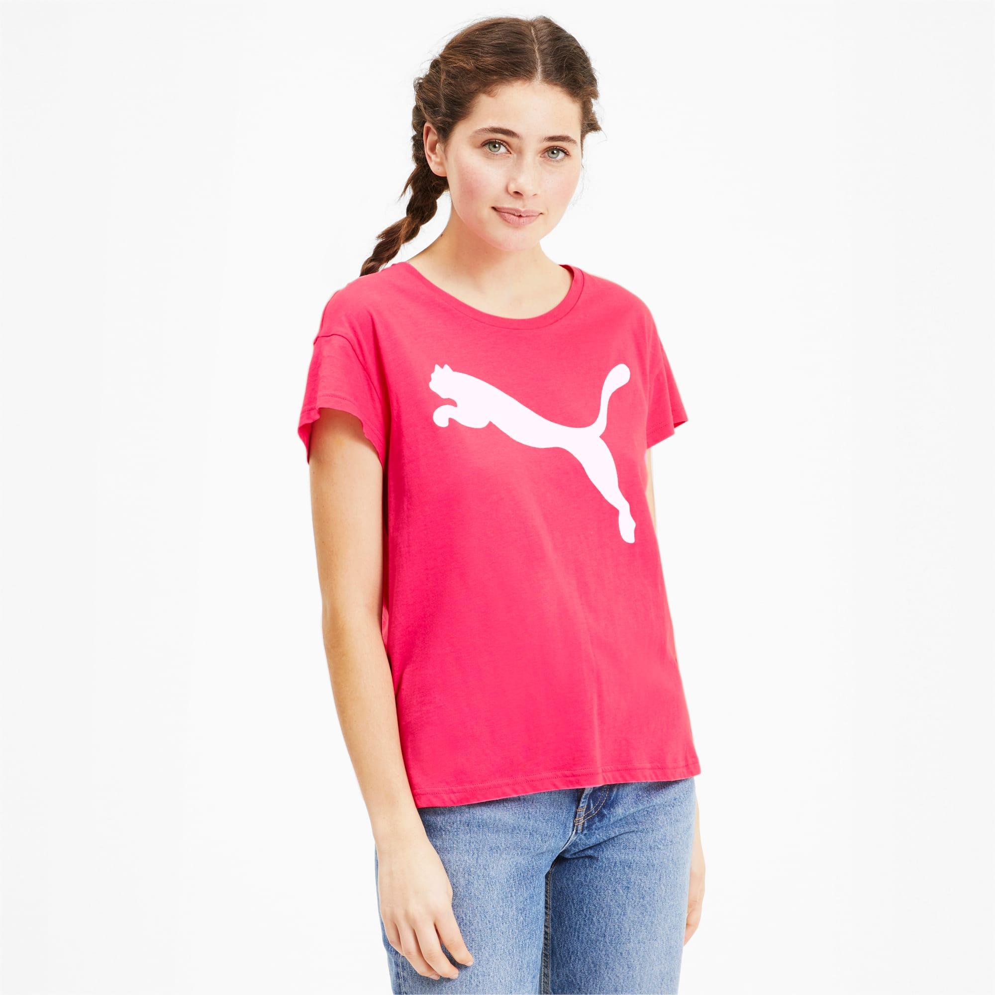 puma -  Active Damen T-Shirt   Rosa   Größe: L