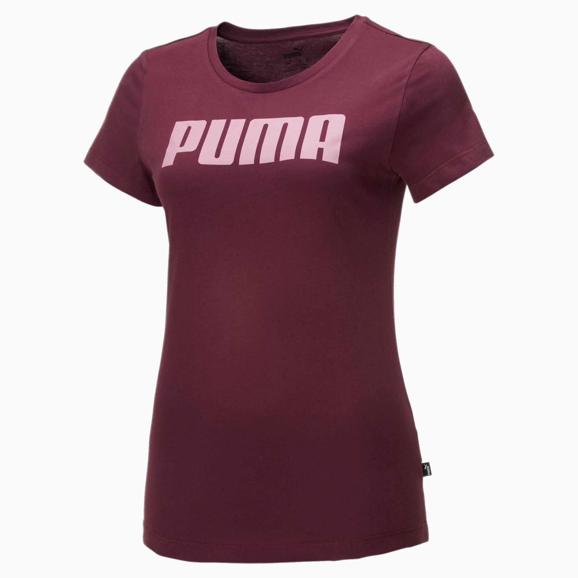 puma -  Essentials Damen T-Shirt   Mit Aucun   Rot   Größe: XXS