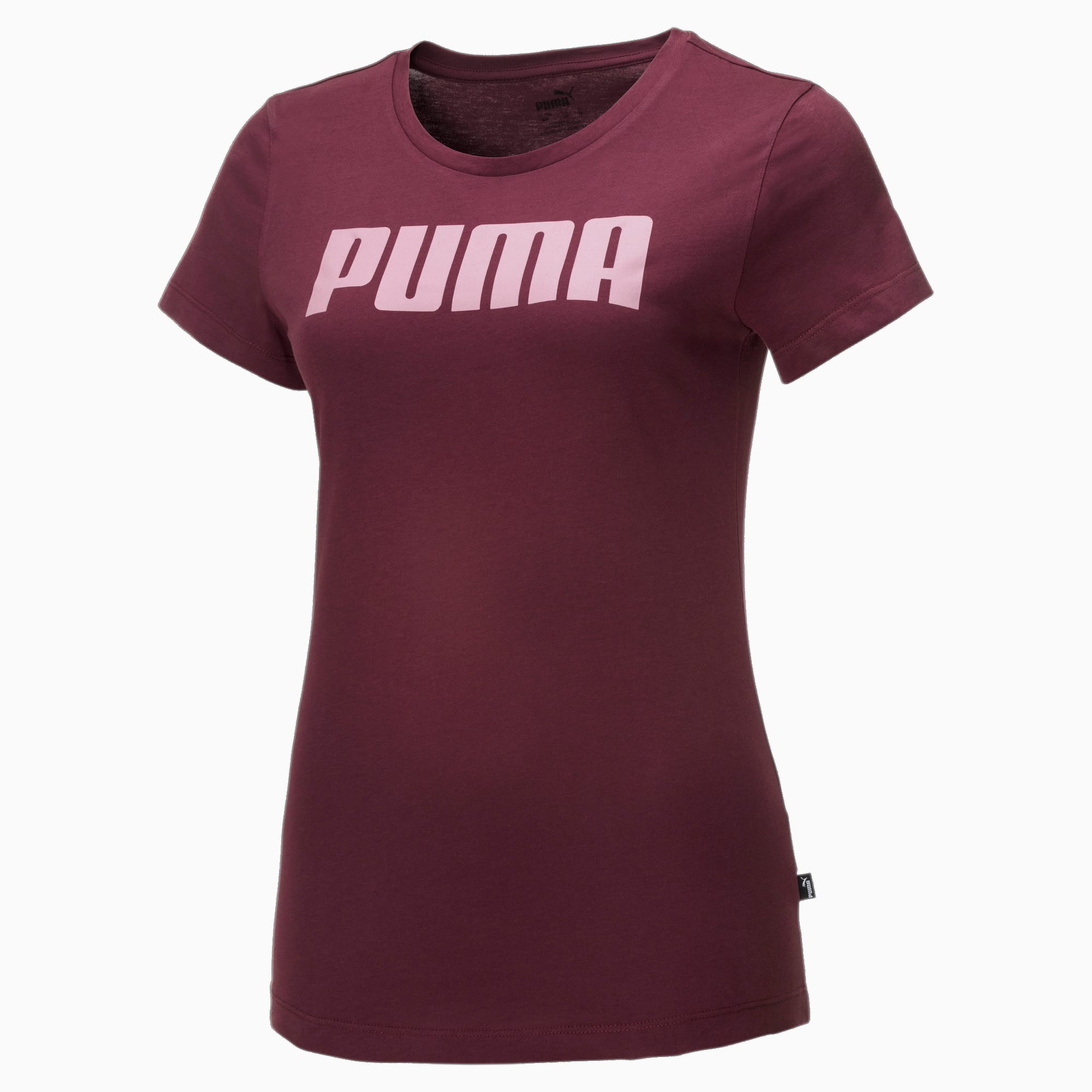 Essentials T-shirt voor Dames, Rood, Maat M | PUMA