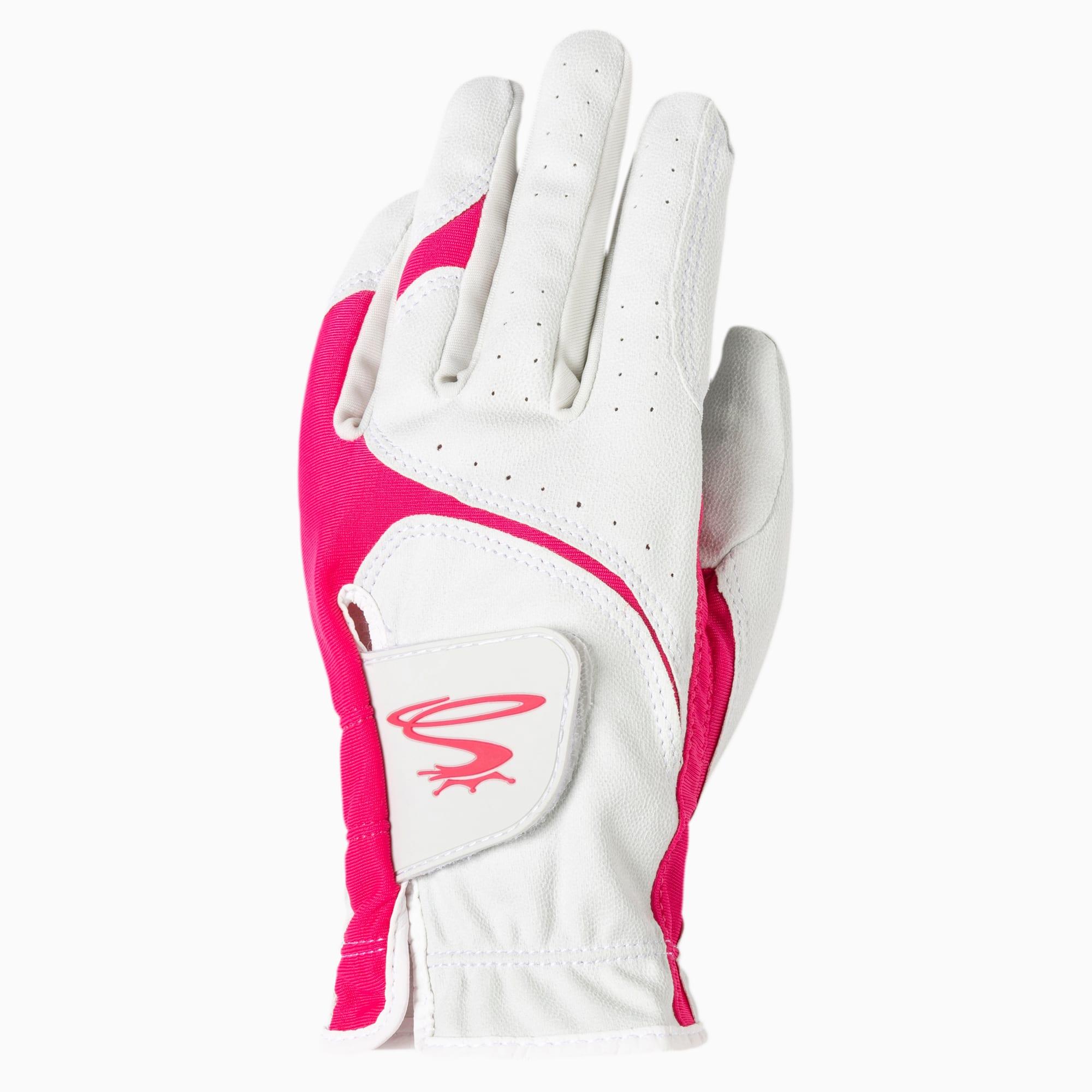 PUMA Gant gauche MicroGrip Flex Golf pour Femme, Blanc, Taille XL, Accessoires