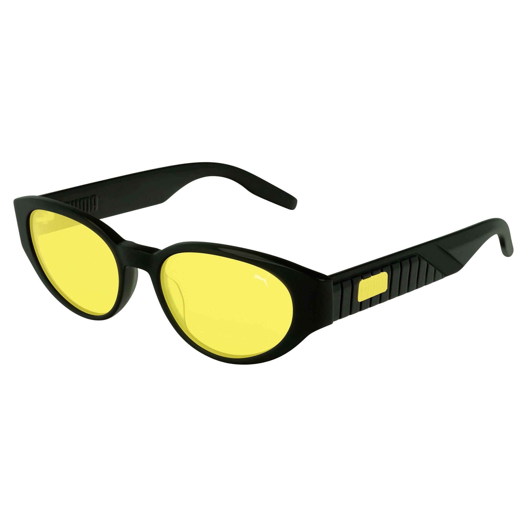 Victoria Beach zonnebril voor Dames, Groen/Geel | PUMA