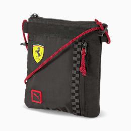PUMA Torba Na Ramię Scuderia Ferrari Fanwear, Czarny, rozmiar Uniwersalny, Akcesoria