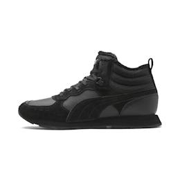 PUMA Chaussure de course pour l'hiver Vista Mid-Cut, Noir/Blanc, Taille 38