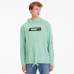 PUMA Męska Bluza Z Kapturem NU-TILITY, Zielony, rozmiar XS, Odzież