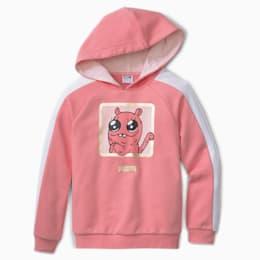 PUMA Monster Kids' Hoodie, Piwonia, rozmiar 62, Odzież