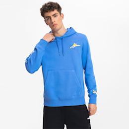 PUMAxSONIC Męska Bluza Zkapturem, Niebieski, rozmiar XS, Odzież