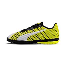 PUMA ONE 5.4 TT Soccer Shoes JR, White-Black-Yellow Alert, small