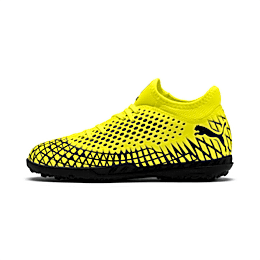 FUTURE 4.4 TT Soccer Shoes JR, Yellow Alert-Puma Black, small